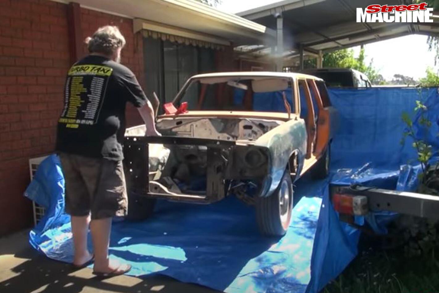 Street Machine TV Sandblasting Ve Valiant Wagon 3