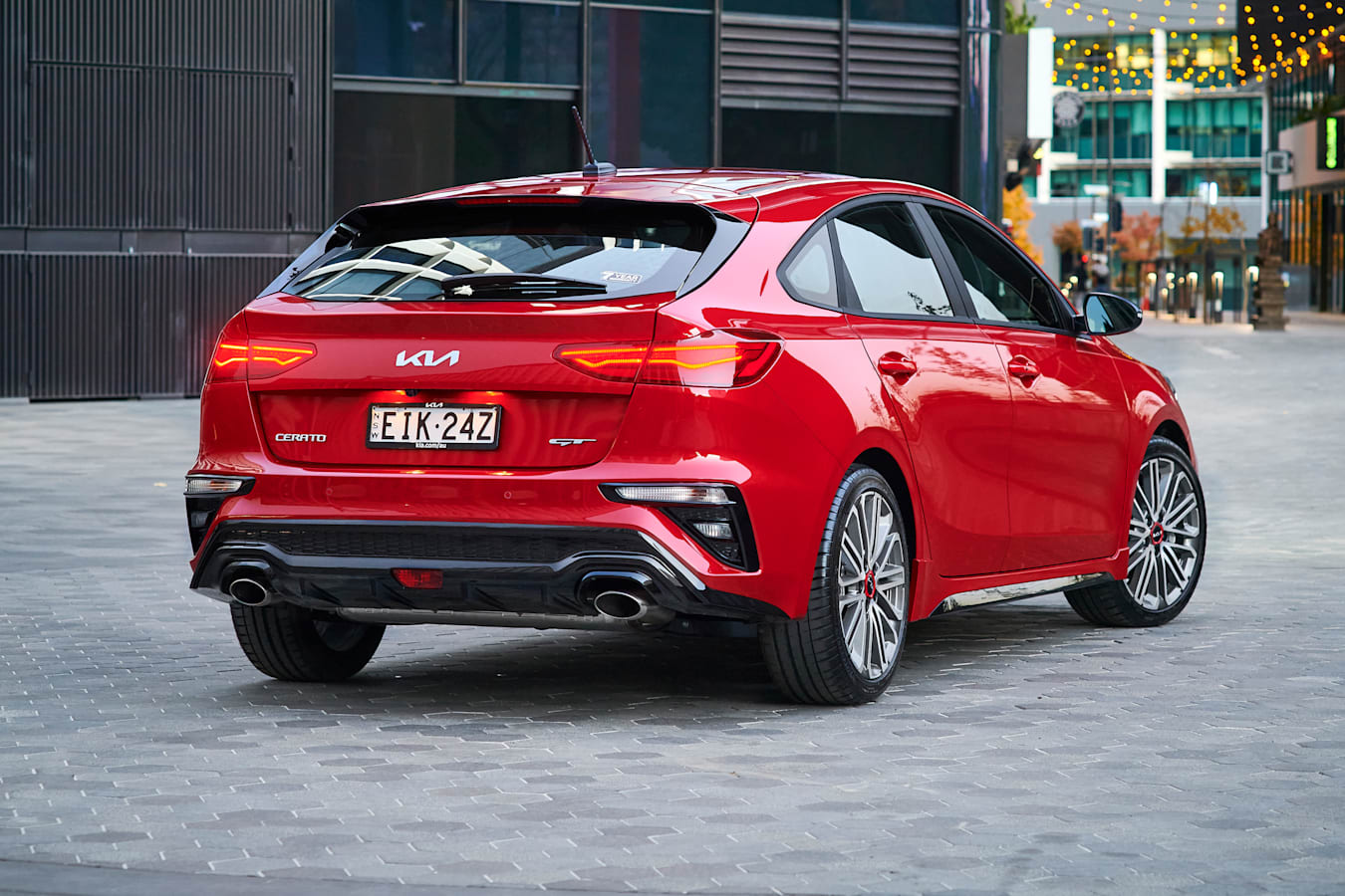 Which Car Car Reviews 2022 Kia Cerato GT Facelift Rear