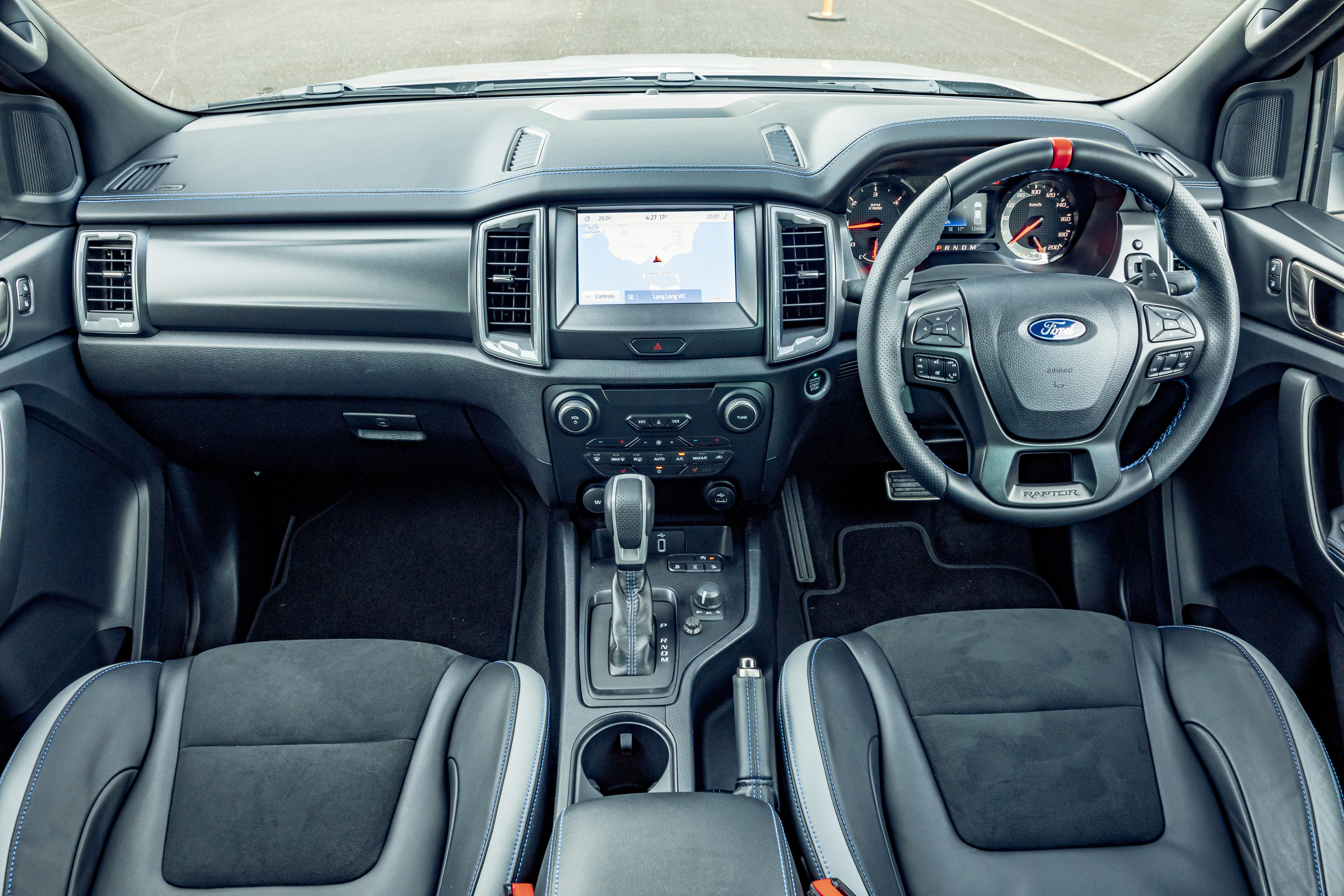 4 X 4 Australia Comparisons 2021 May 21 Ford Ranger Raptor Interior