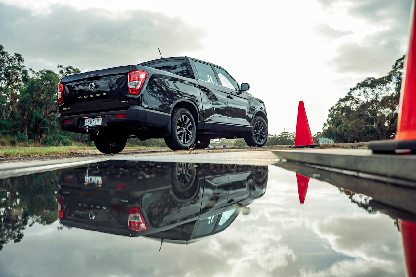 4 X 4 Australia Comparisons 2021 May 21 Ssang Yong Musso Unlimited XLV Rear