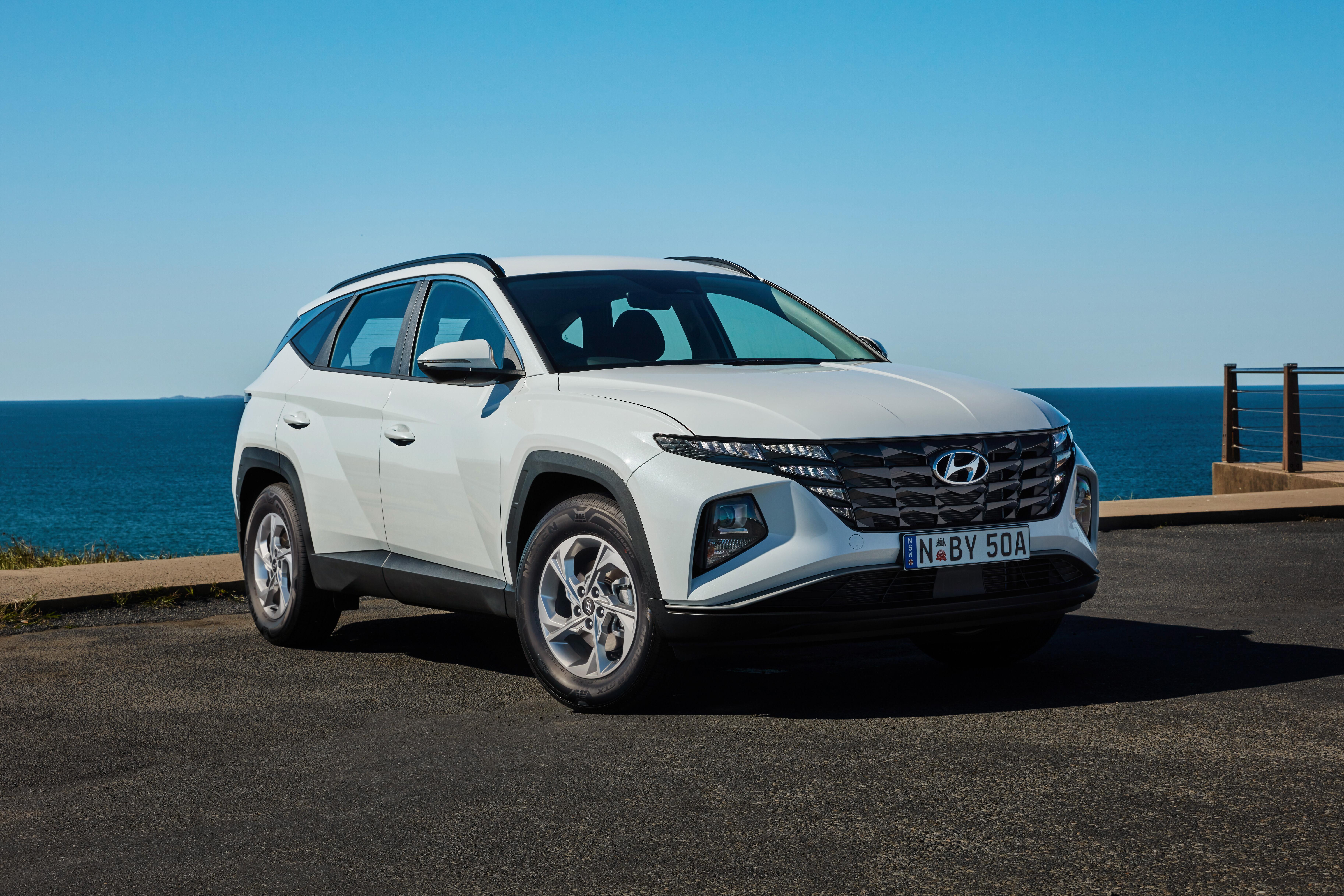 2022 Hyundai Tucson (base model)