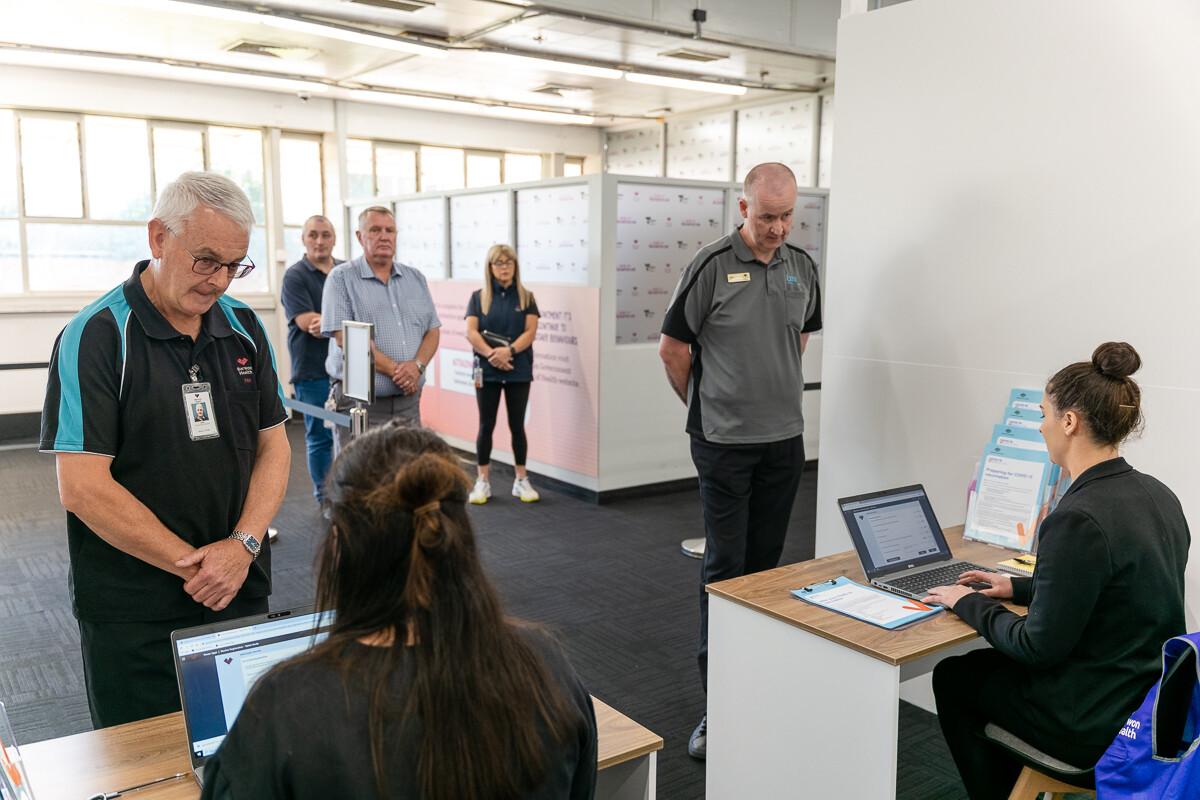 Which Car Car News Ford Vaccination Hub Geelong 6