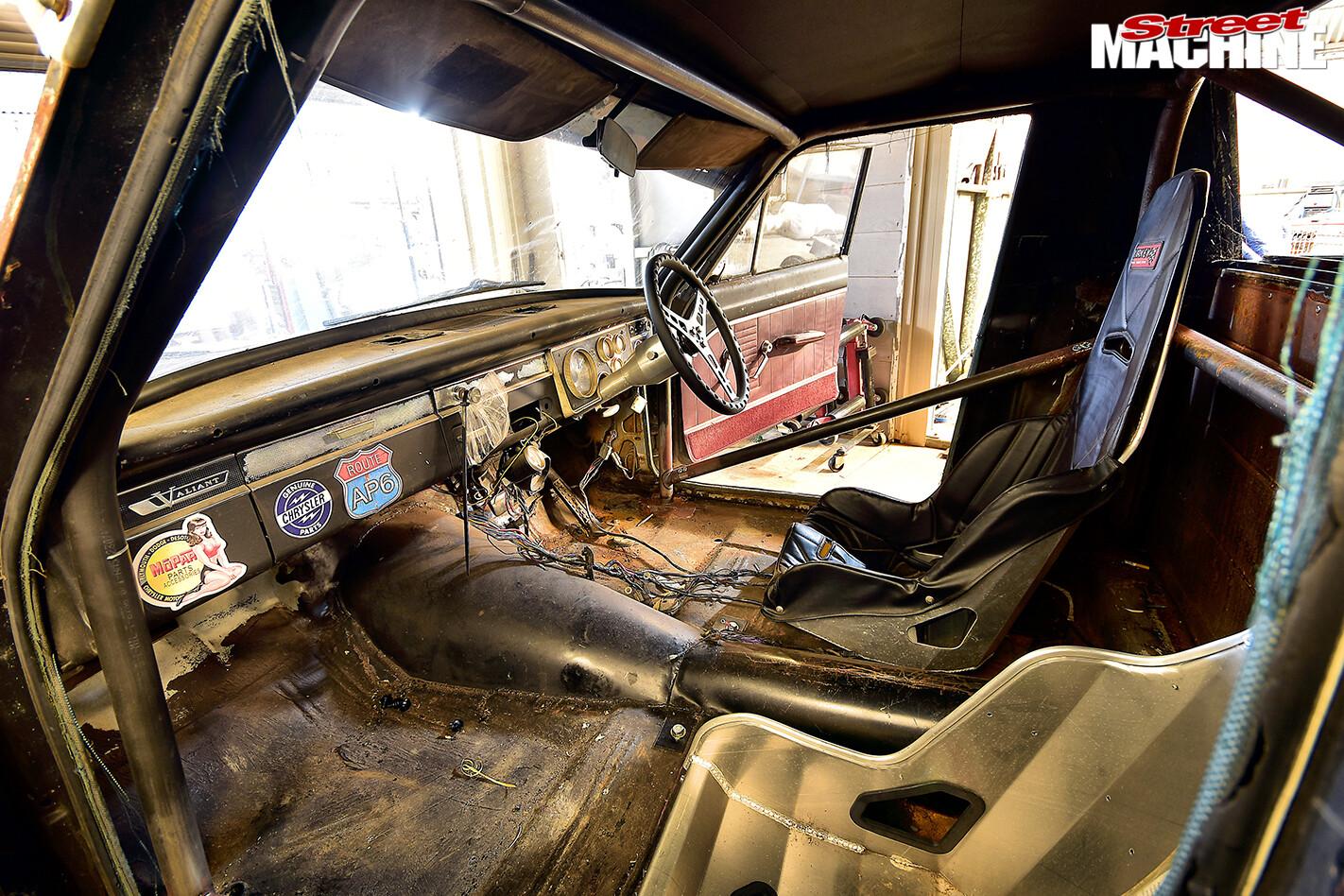 Street Machine Features Valiant Ap 6 Ute Interior