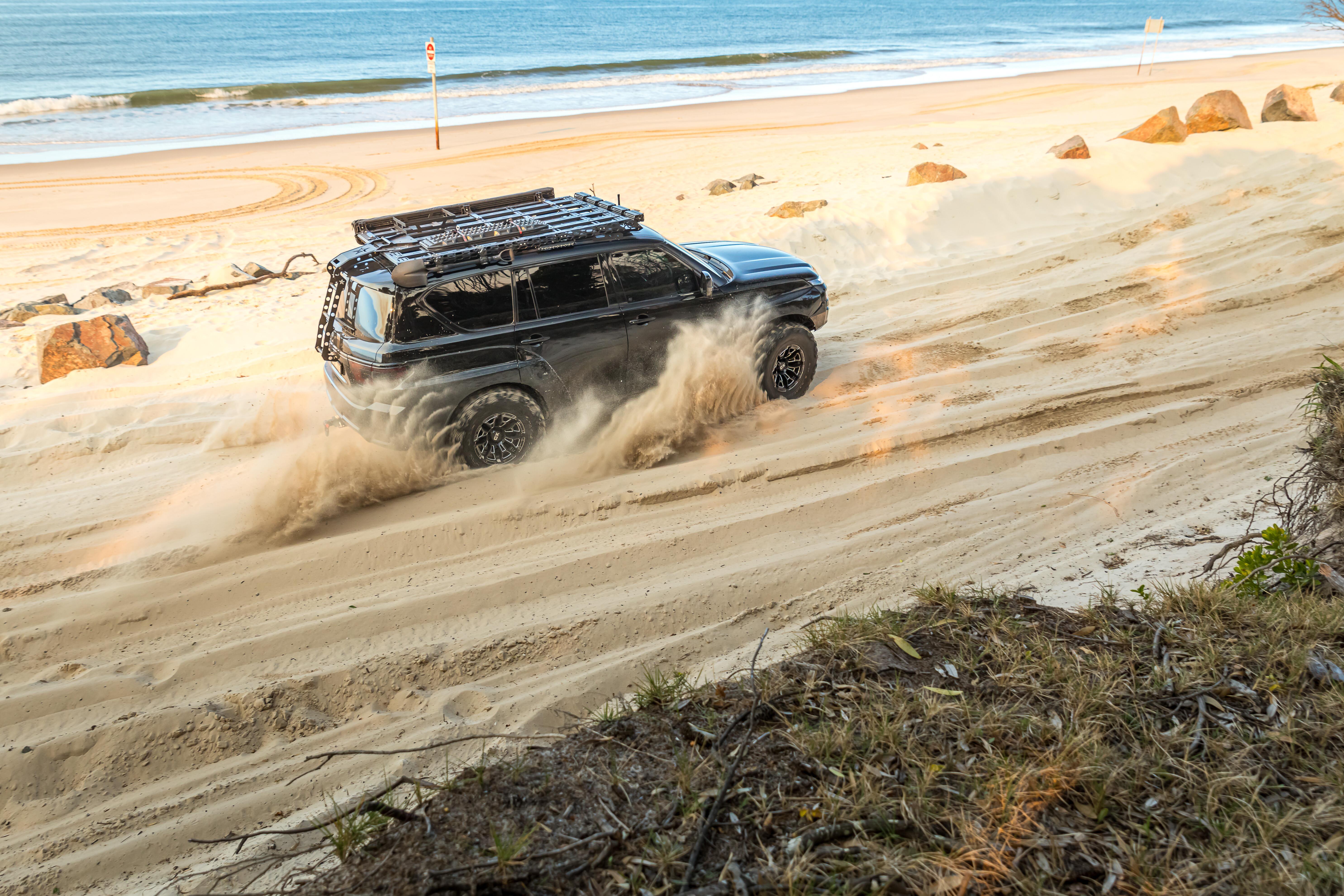 4 X 4 Australia Reviews 2021 September 2021 Custom Nissan Y 62 Patrol Sand 4