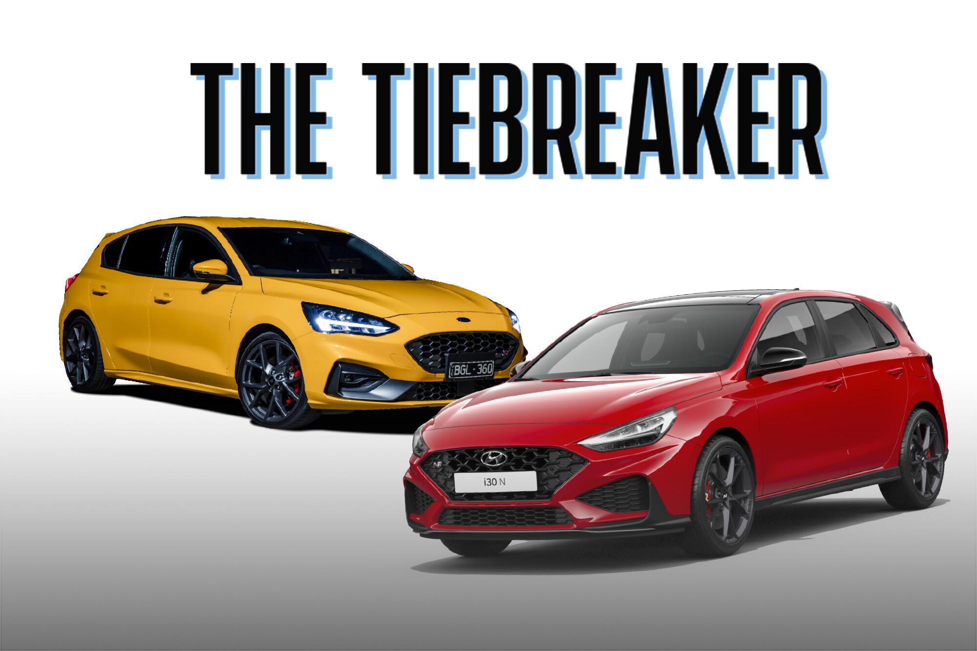 Tiebreaker: Ford Focus ST v Hyundai i30 N