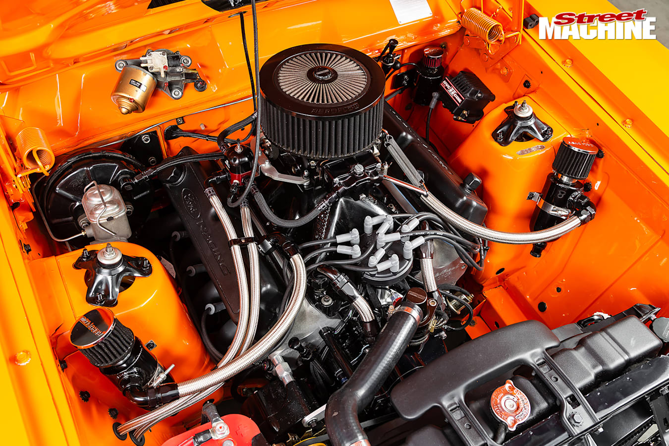 Street Machine Features Ford Falcon Engine Bay 2