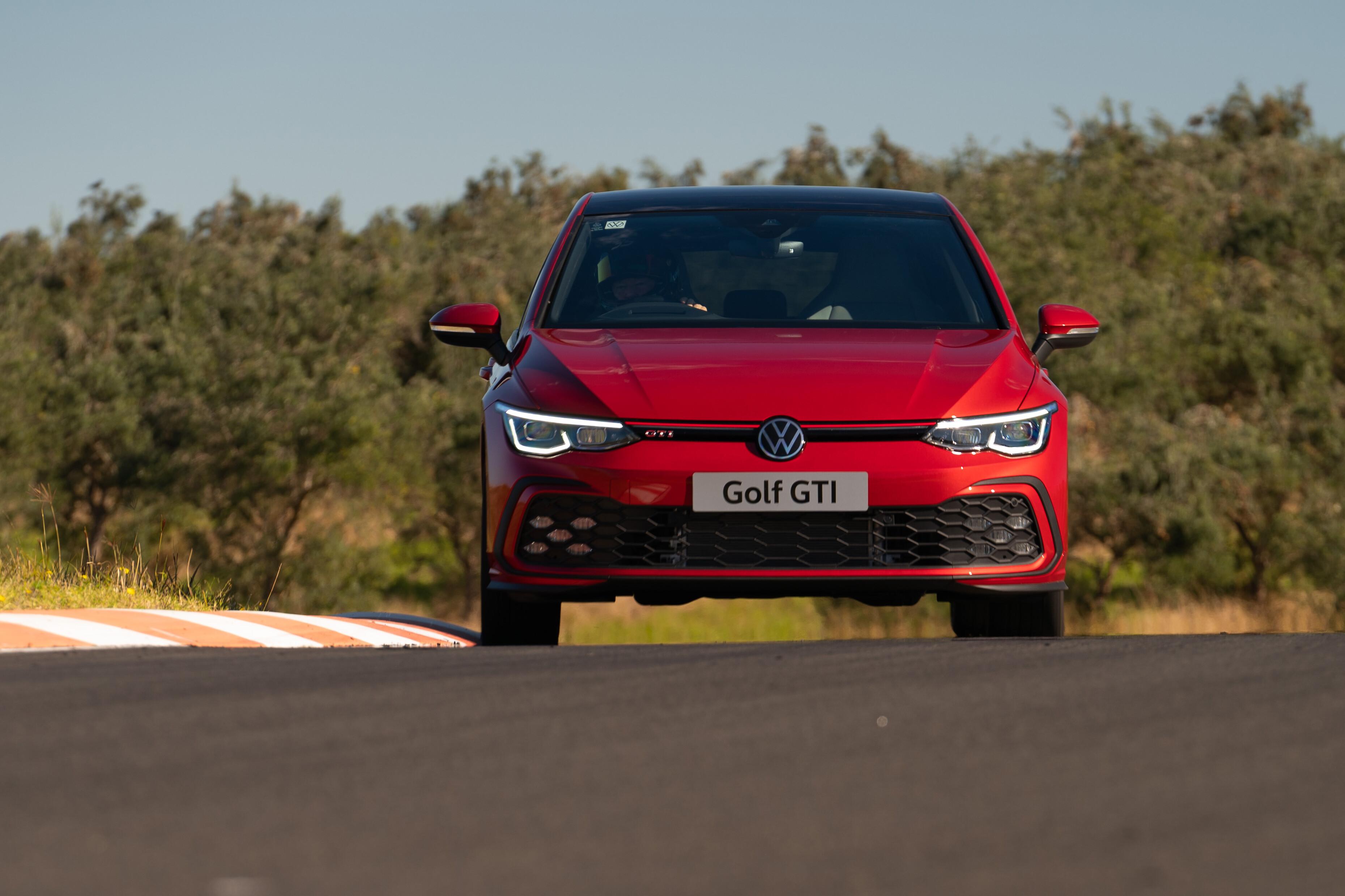 2021 Volkswagen Golf GTI review - Australian track test