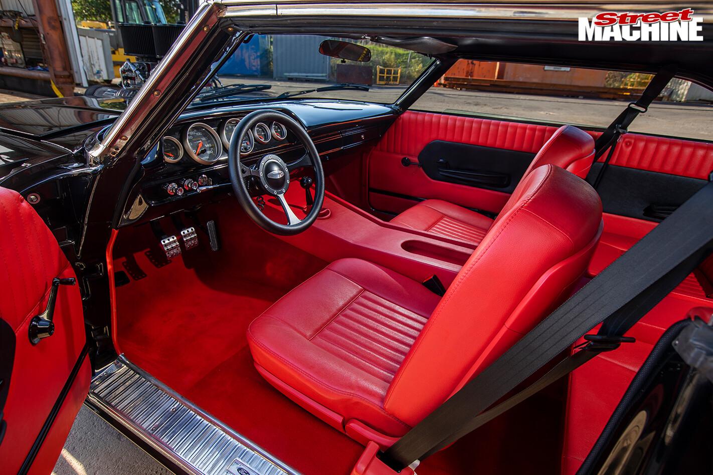 Street Machine Features Ford Galaxie Interior