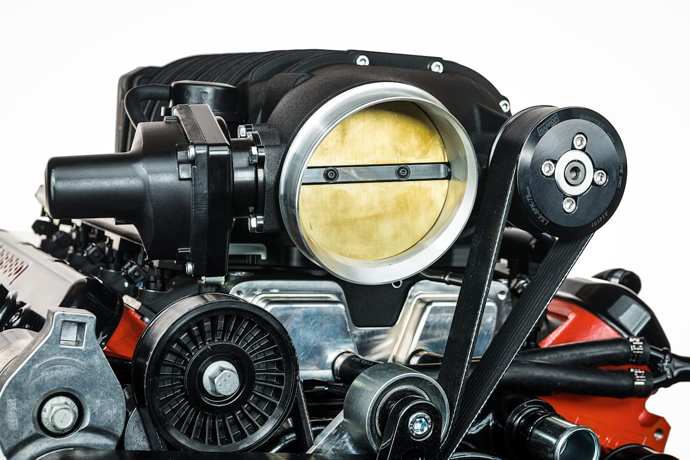 Street Machine Features Supercharged Ls Engine Detail