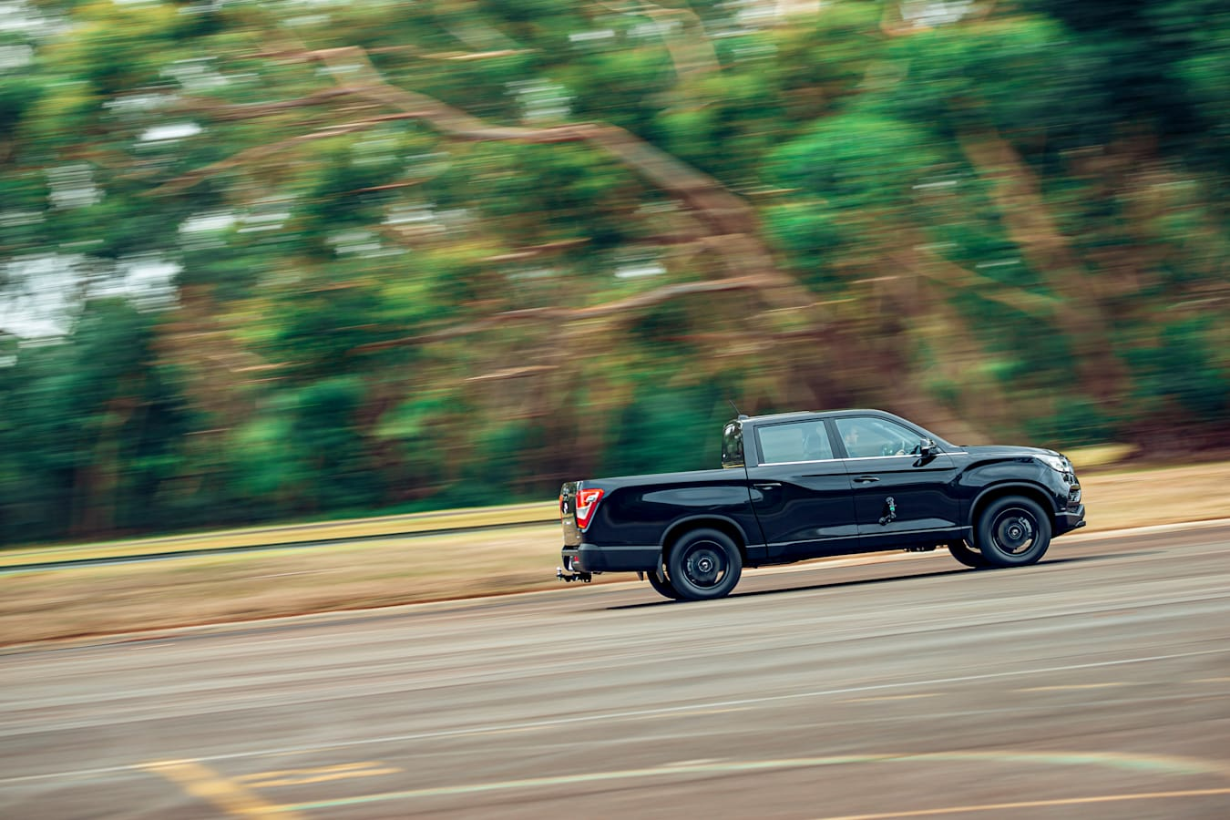 4 X 4 Australia Comparisons 2021 May 21 Ssang Yong Musso Unlimited XLV Performance Testing