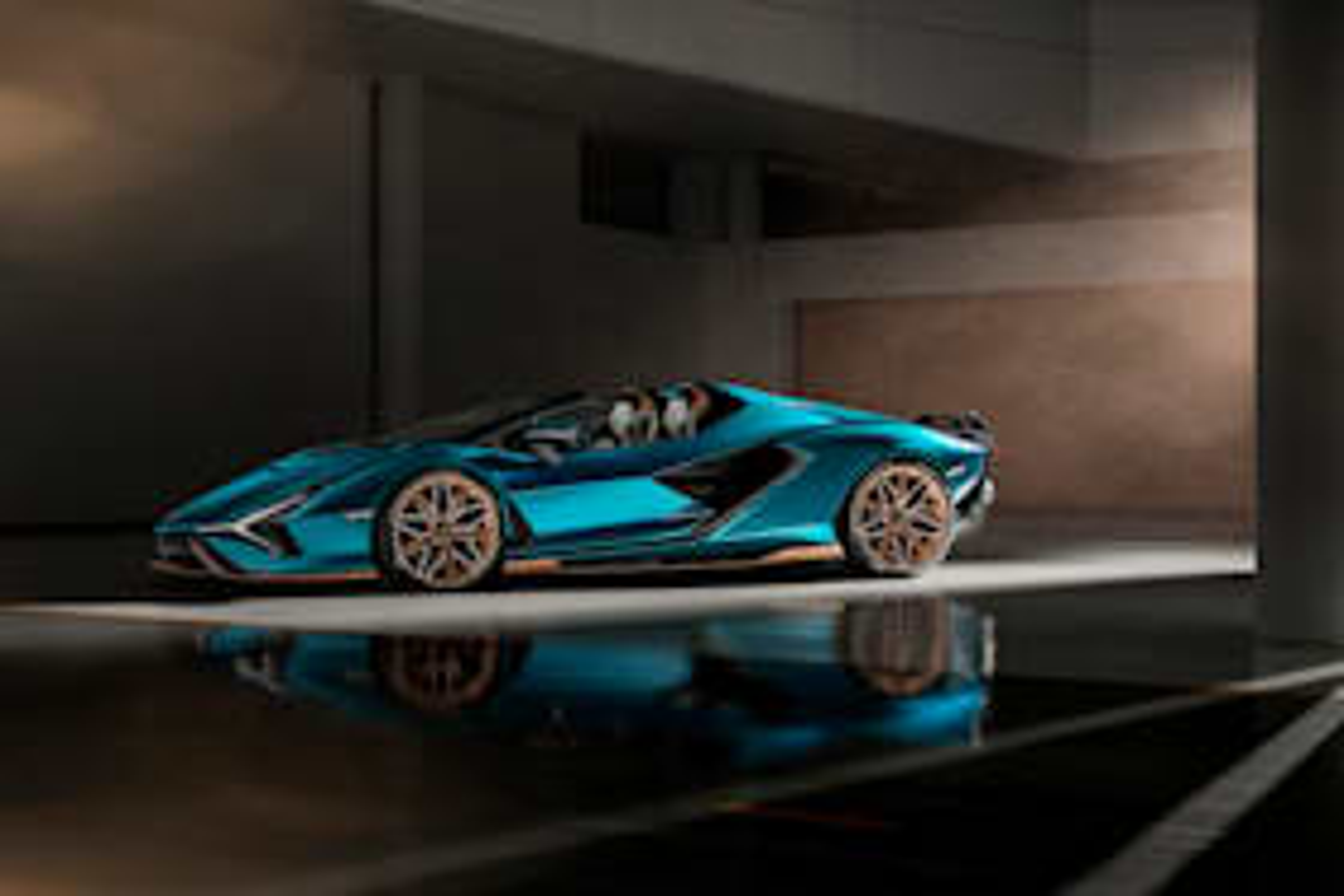 Lamborghini's hybrid future