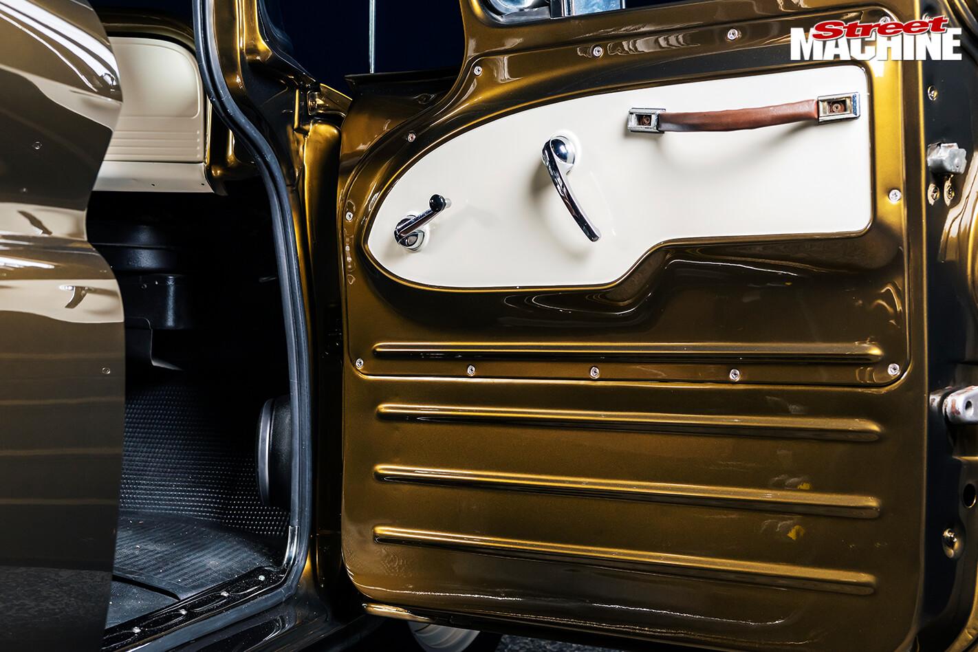 Street Machine Features Chevrolet C 10 Panel Truck Door