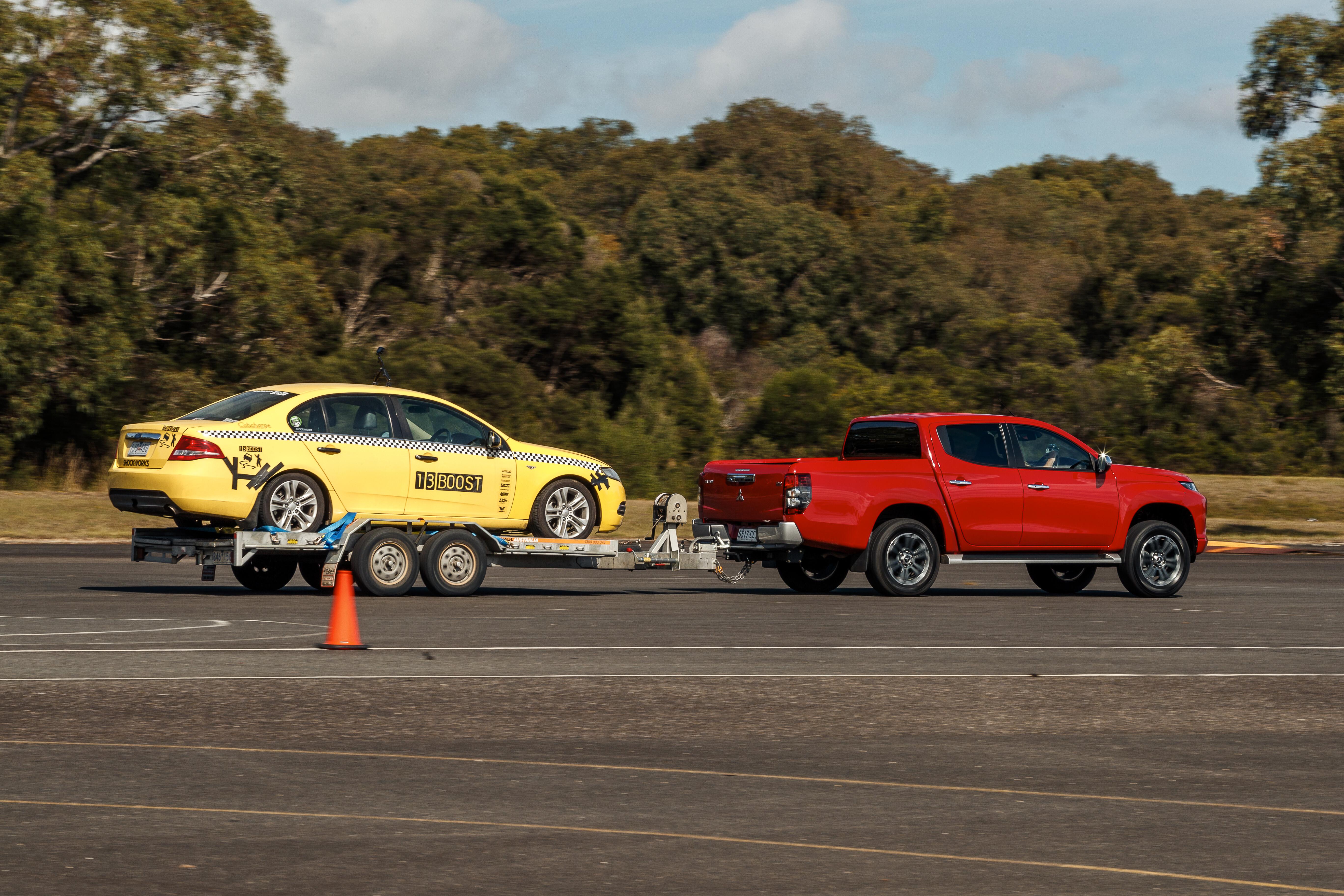 4 X 4 Australia Comparisons 2021 May 21 Mitubishi Triton GLS Towing Performance