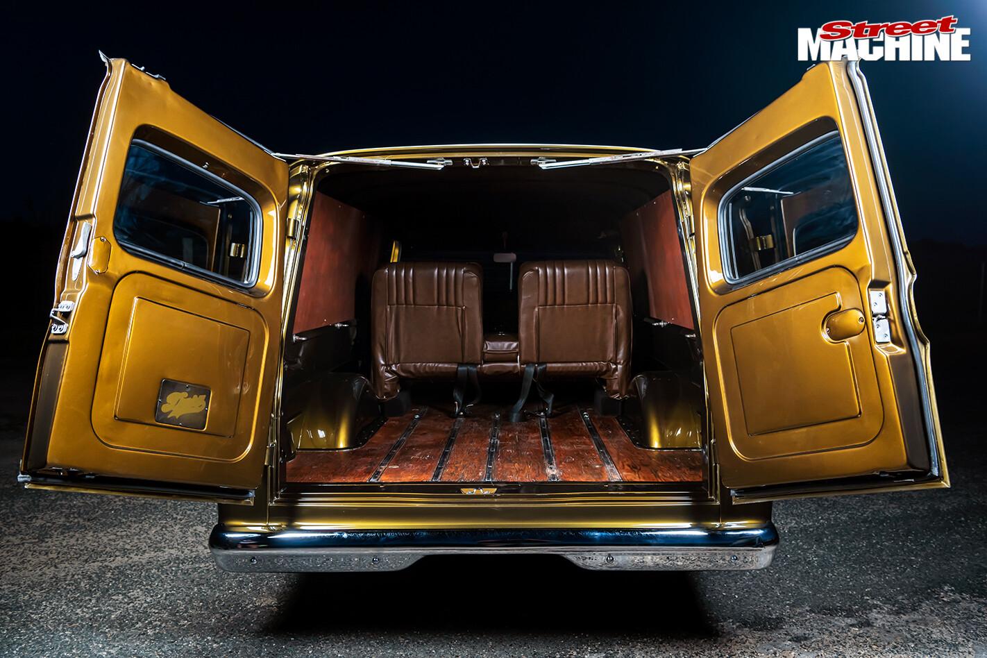 Street Machine Features Chevrolet C 10 Panel Truck Rear