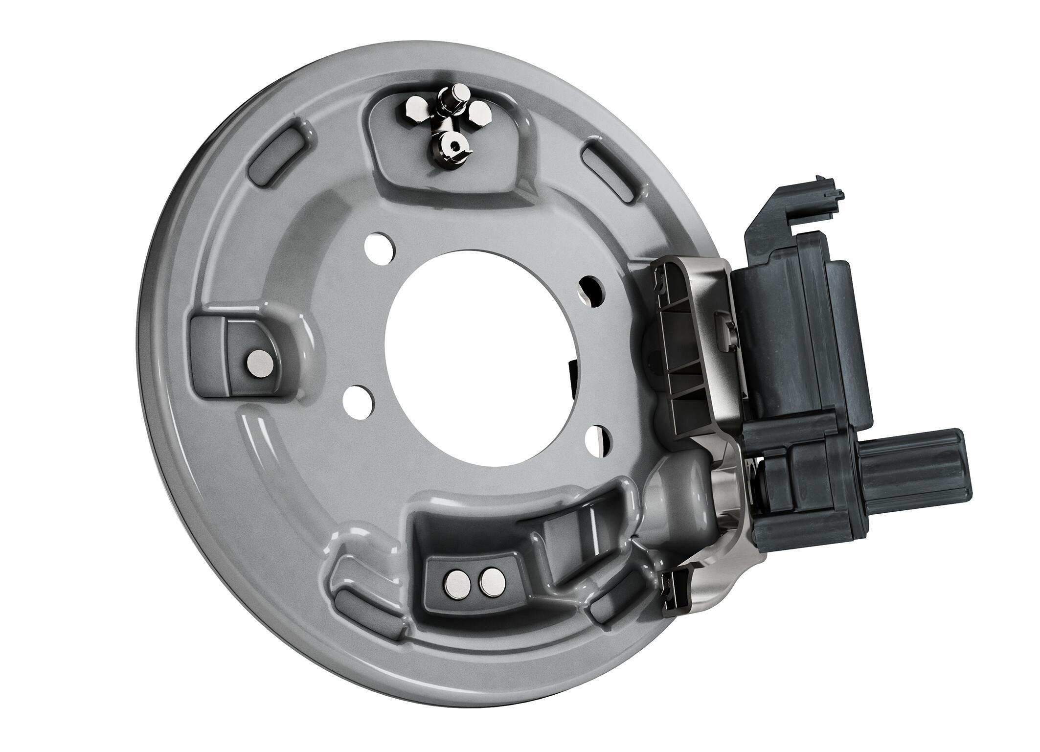VW Continental drum brake