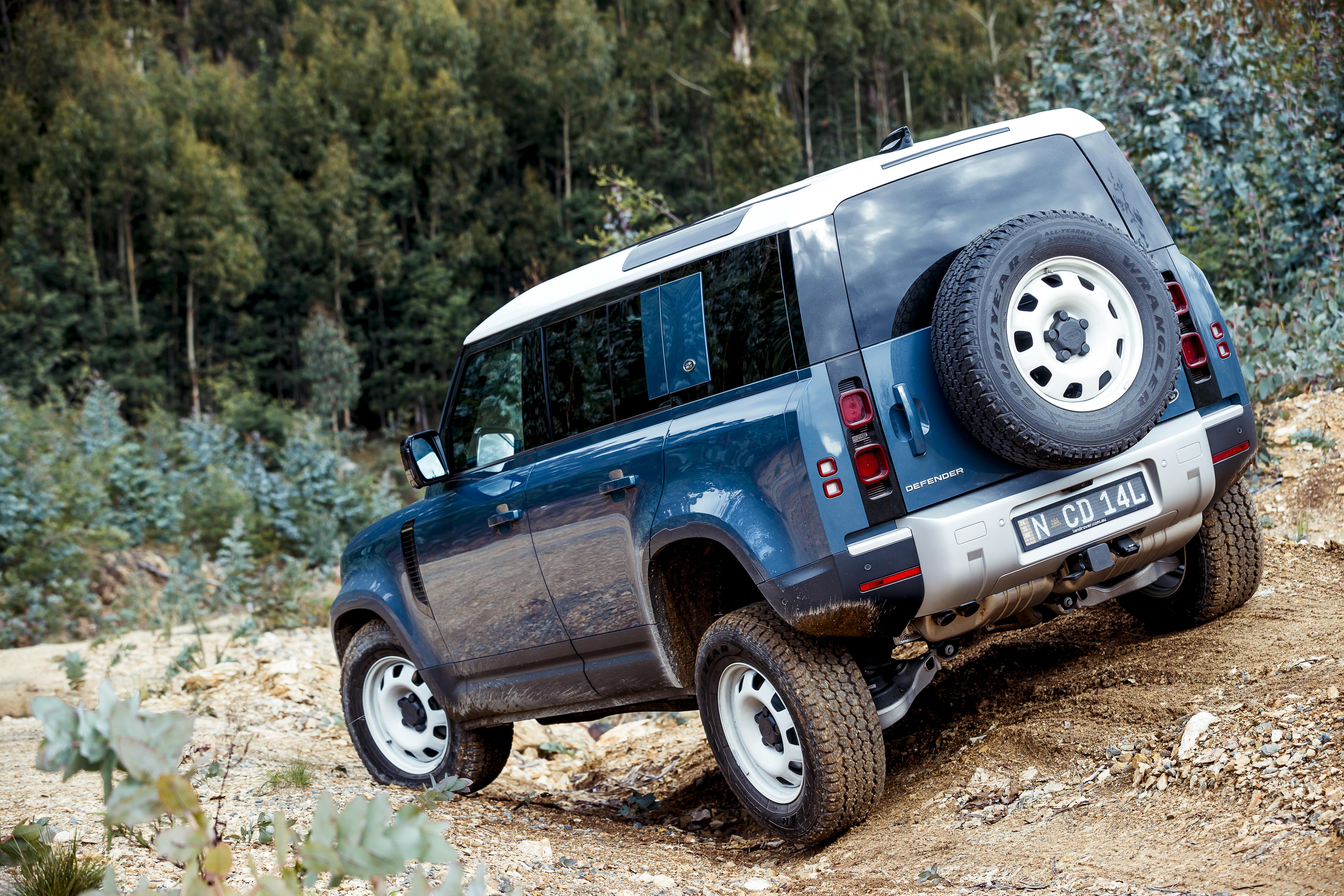 4 X 4 Australia Reviews 2021 June 2021 2021 Land Rover Defender 110 D 250 S 44