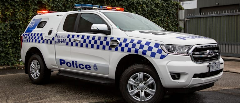 Ford Ranger for Victoria Police