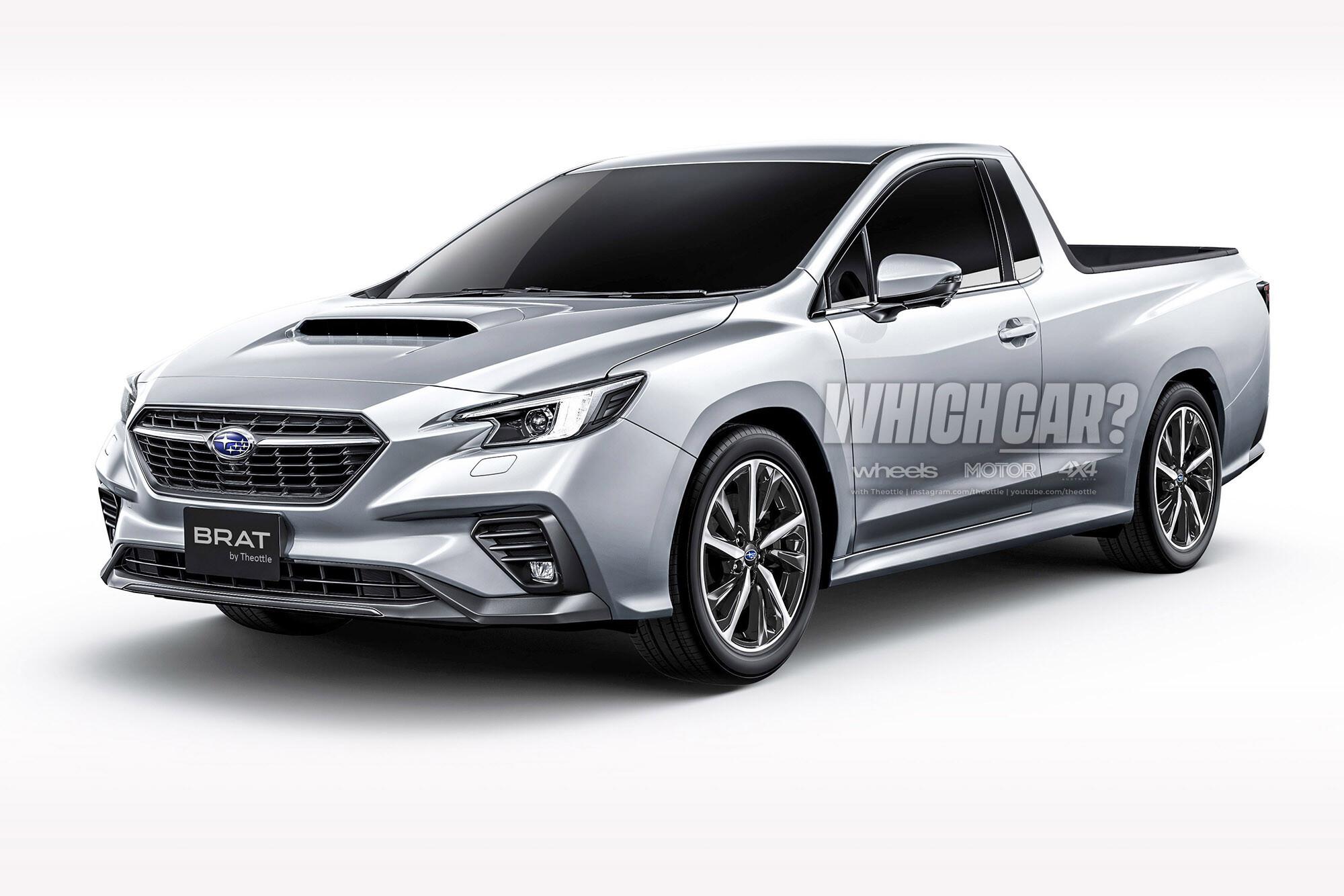 2025 Subaru Brumby (Subaru Brat) rendering