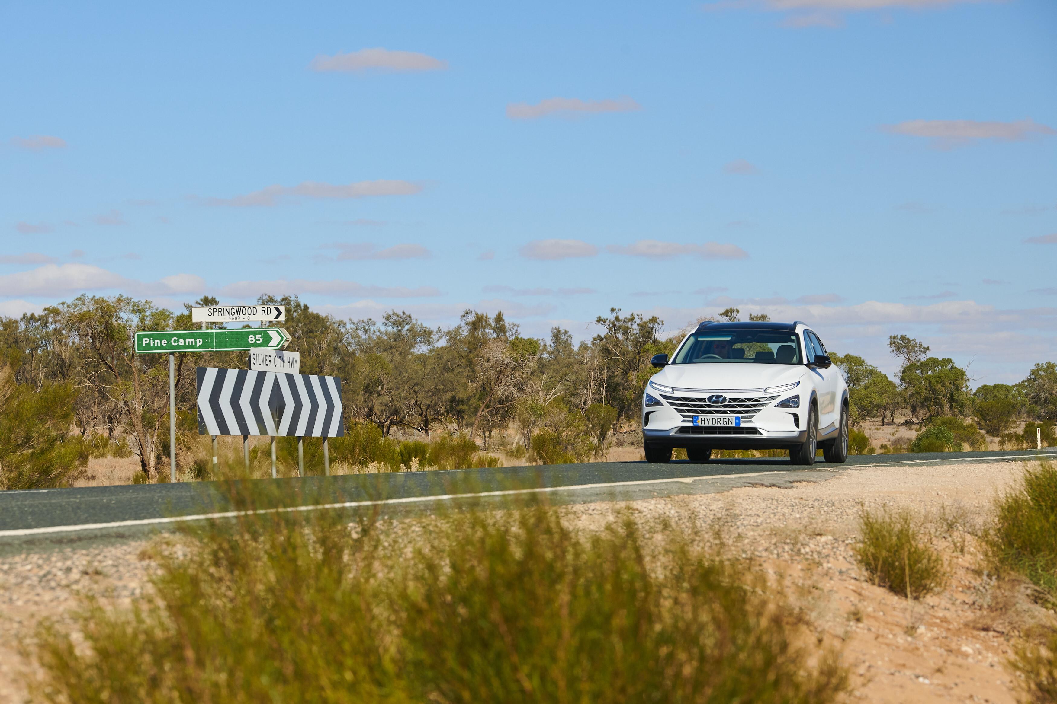 Which Car NEXO Distance World Record 12