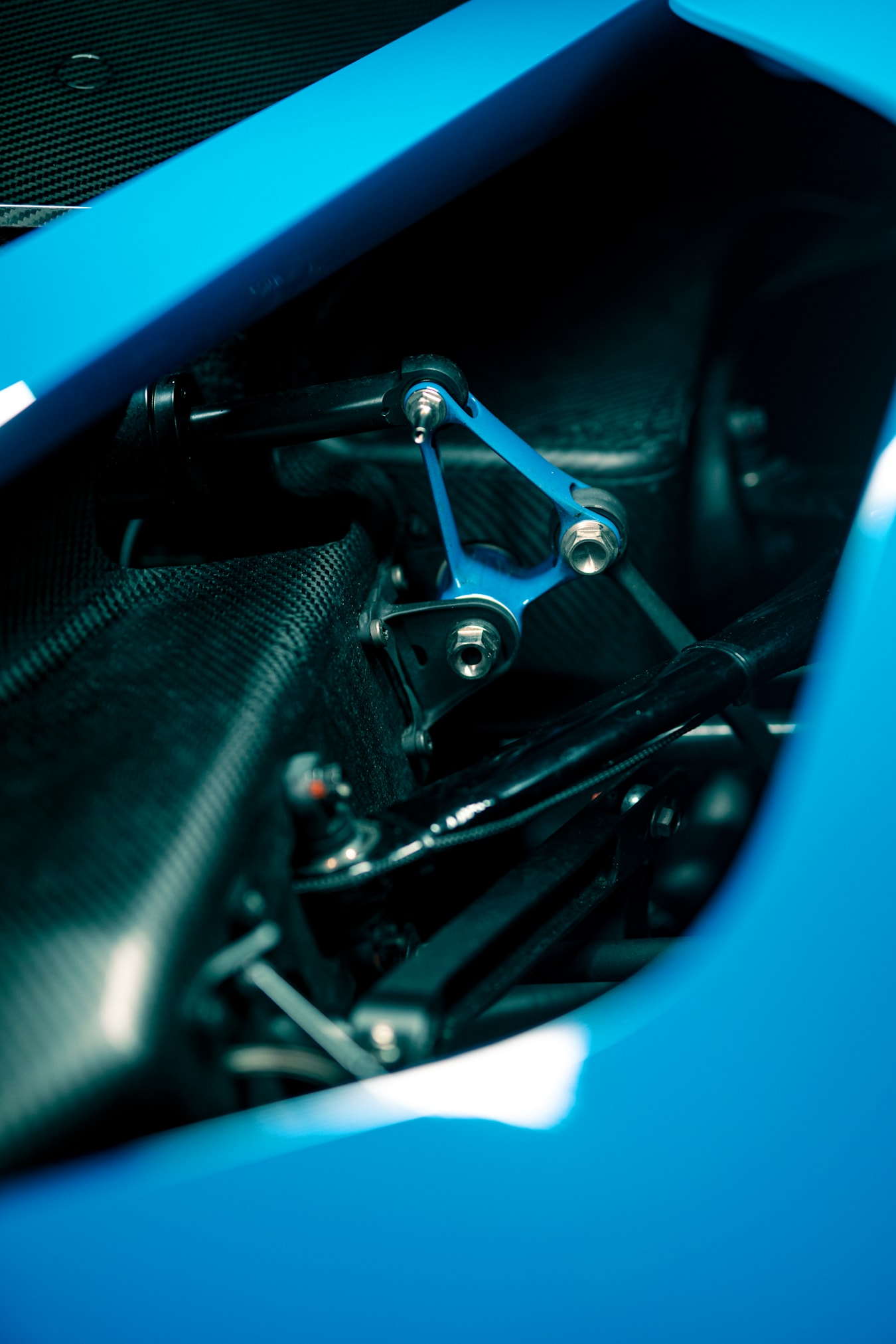 Motor Features Bugatti Bolide 36