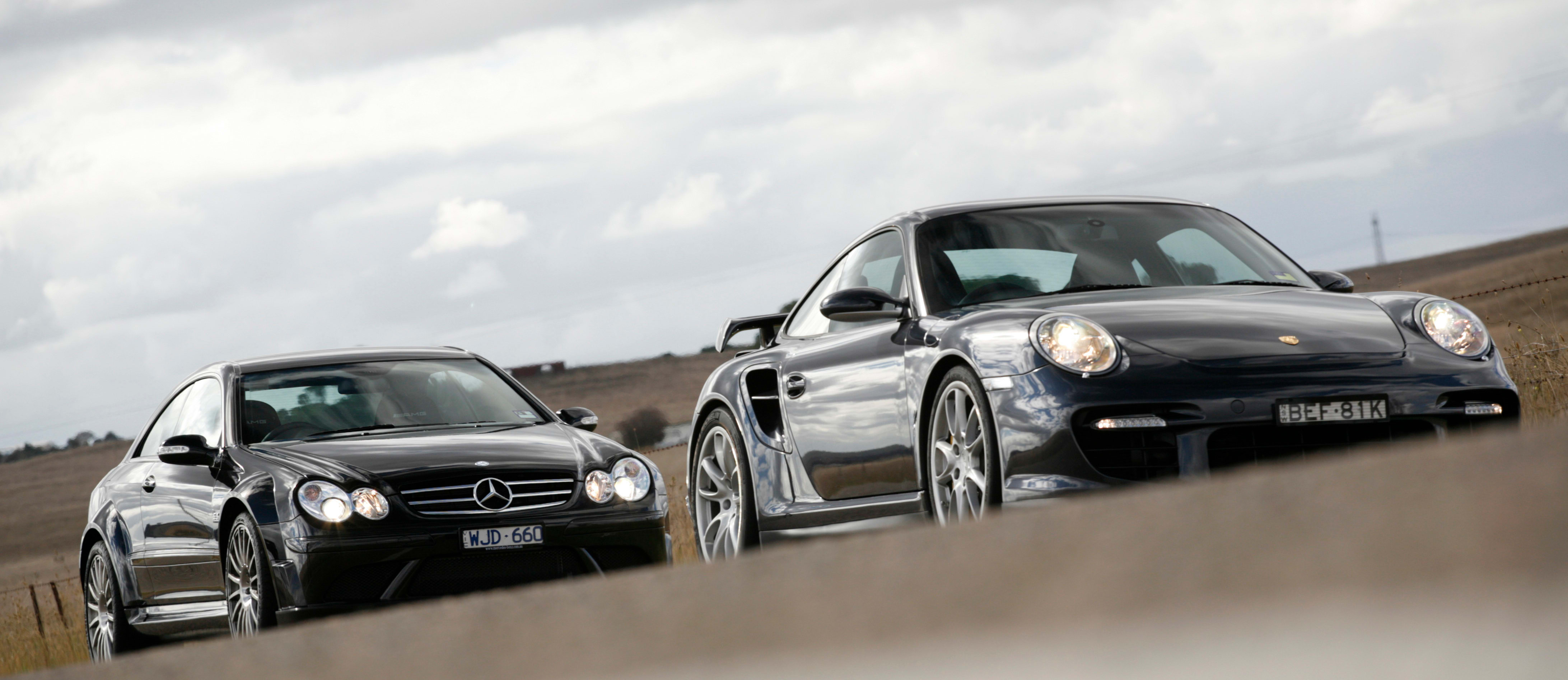 This month in MOTOR 13 years ago: 911 GT2 v CLK63 Black Series