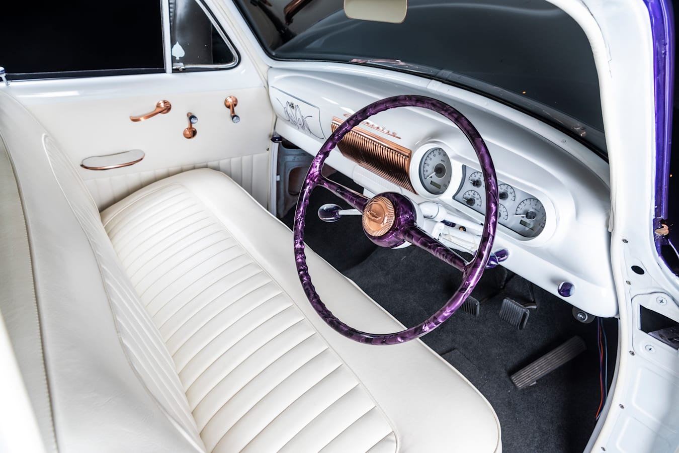 Street Machine Features Chevy Sled Interior
