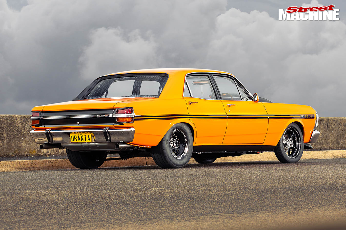 Street Machine Features Ford Falcon Rear