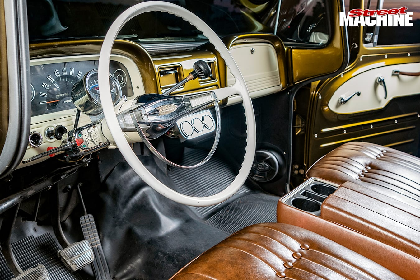 Street Machine Features Chevrolet C 10 Panel Truck Dash 2