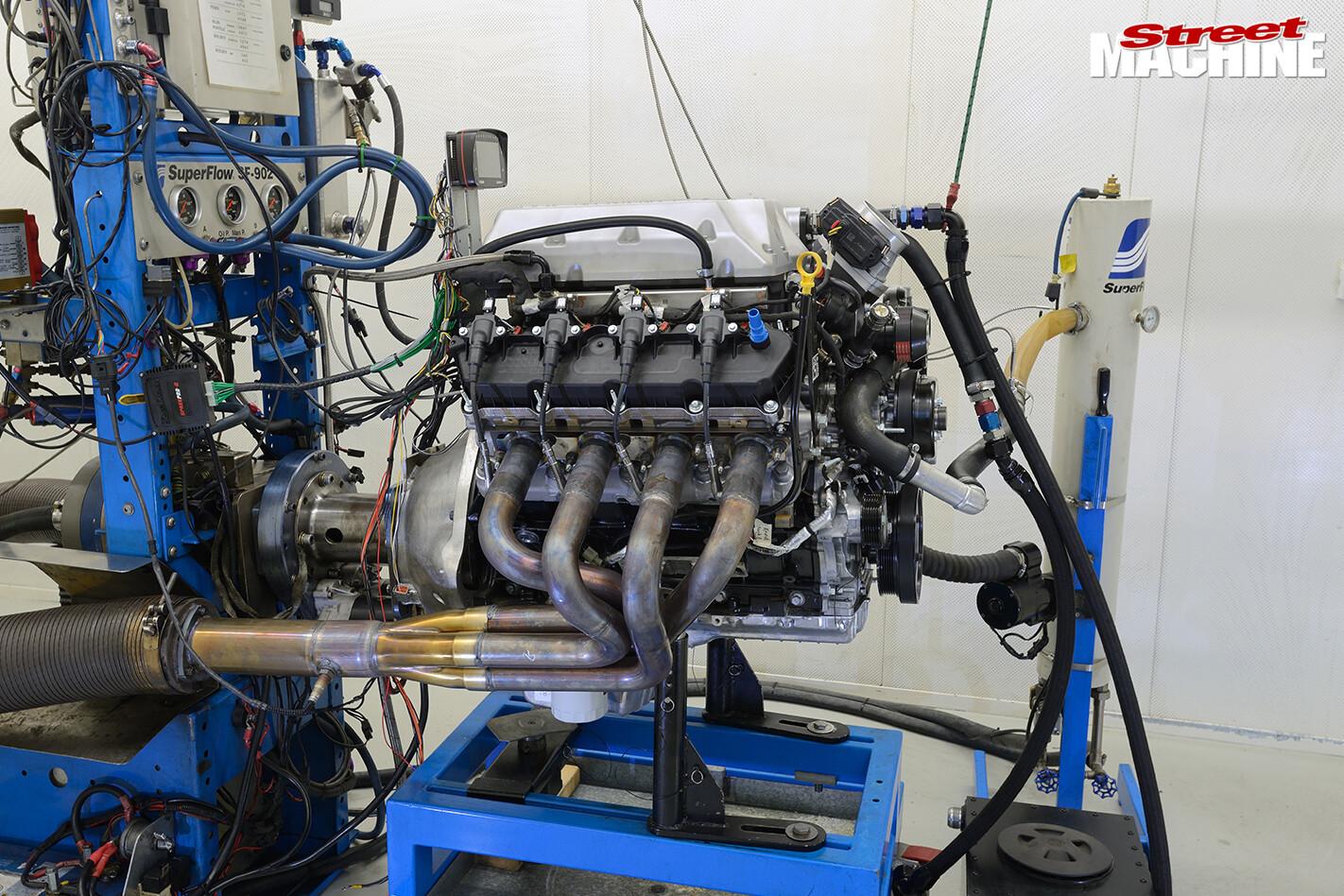 Street Machine TV Ford Godzilla Engine Dyno 2