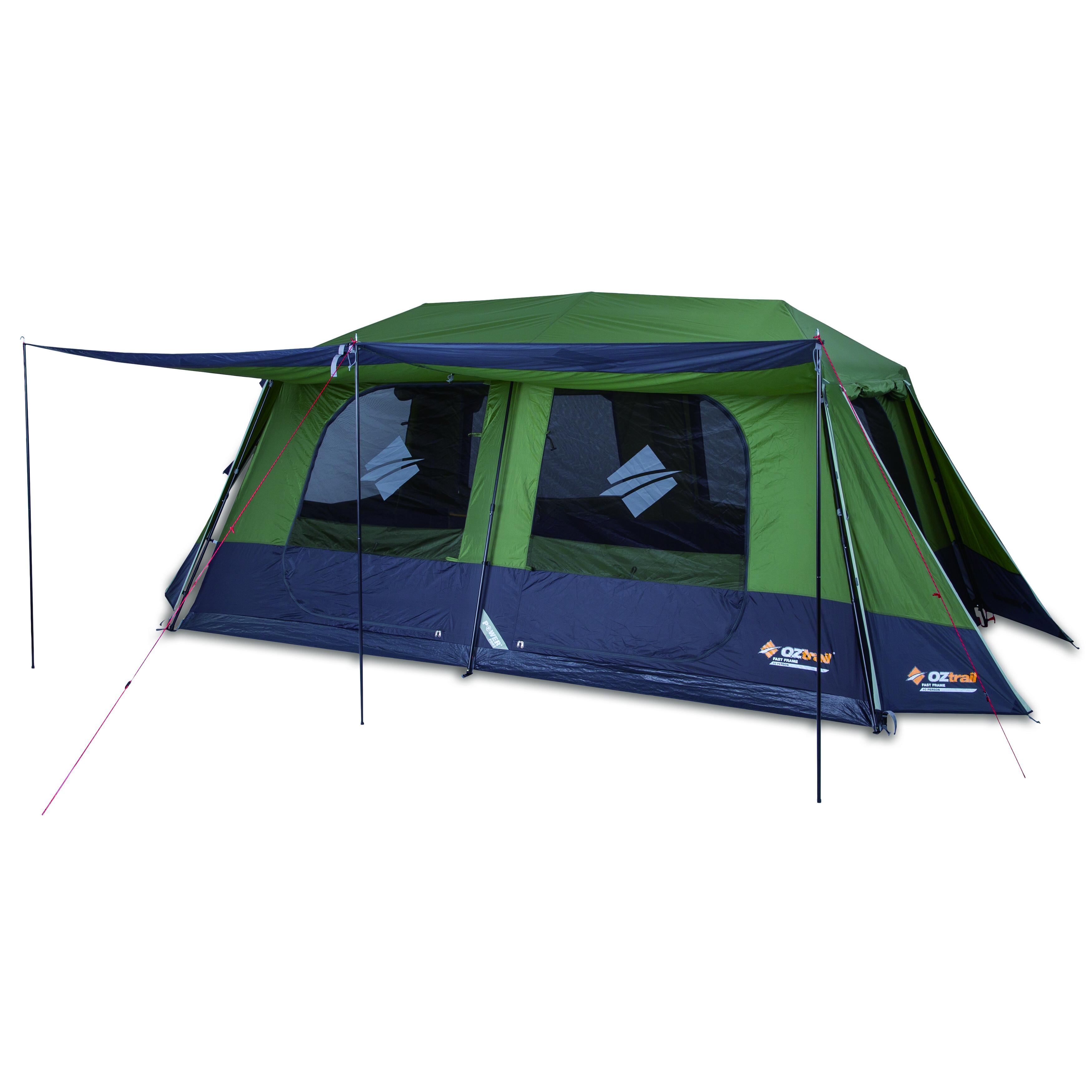 4 X 4 Australia Gear Oz Trail Tent Fast Frame 10 P