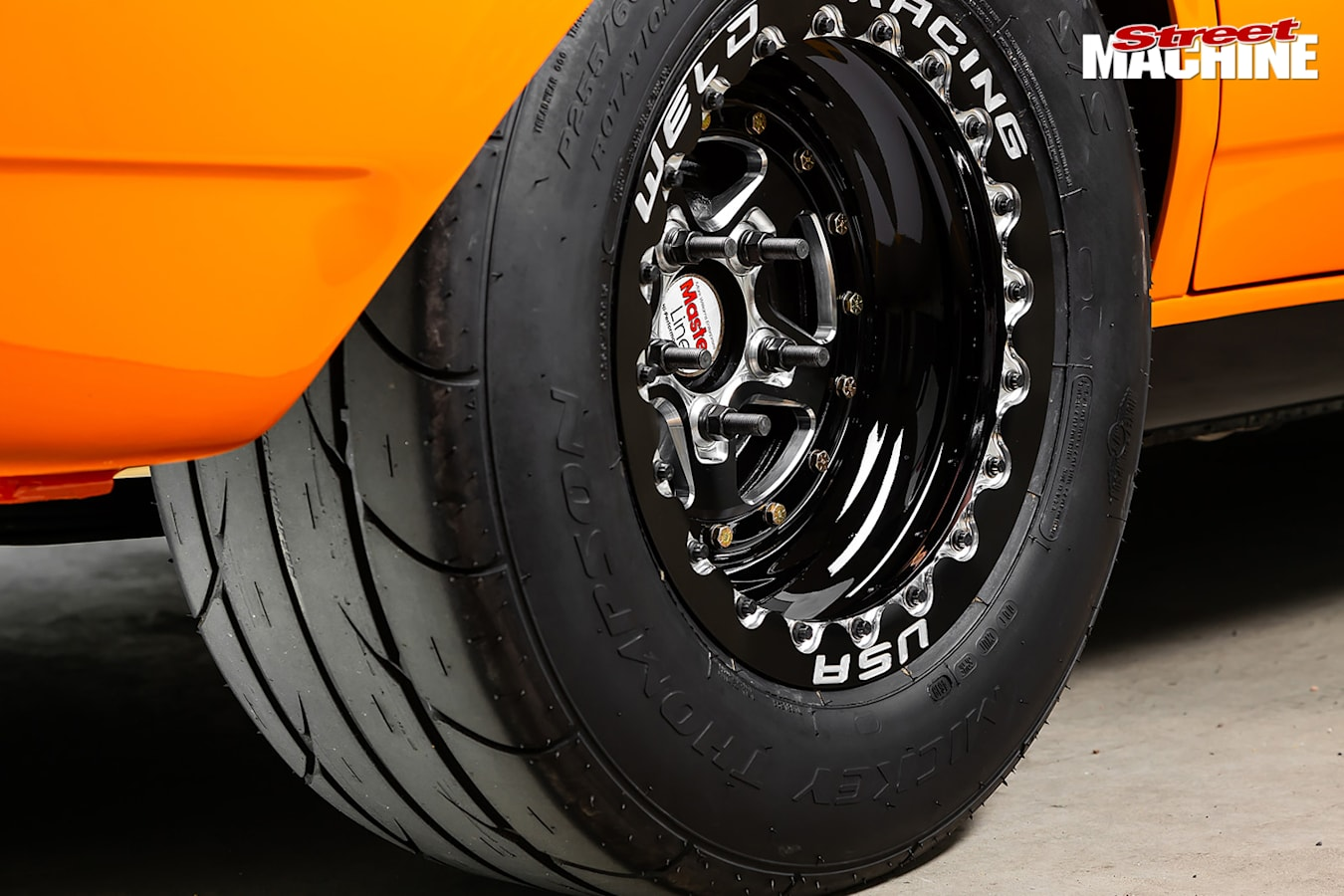 Street Machine Features Ford Falcon Wheel