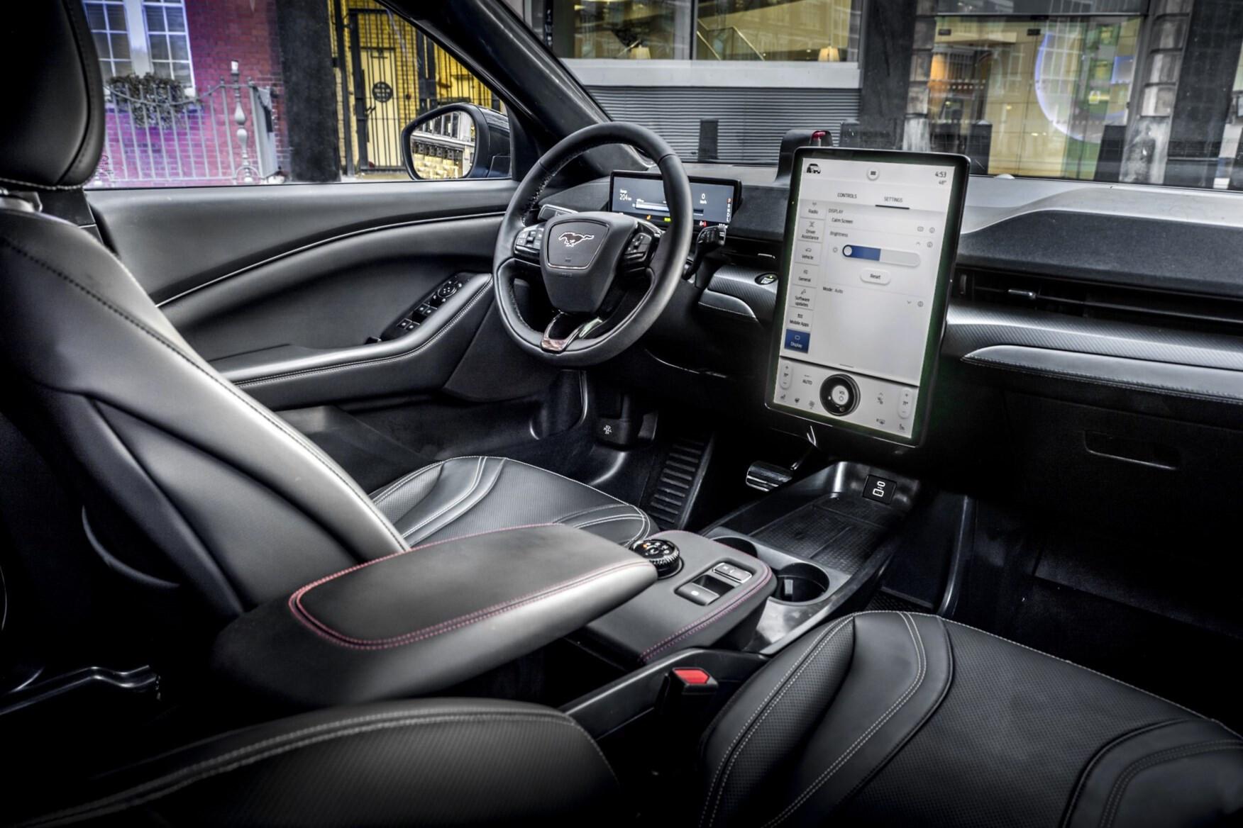 Which Car Car News Ford Mustang Mach E Interior
