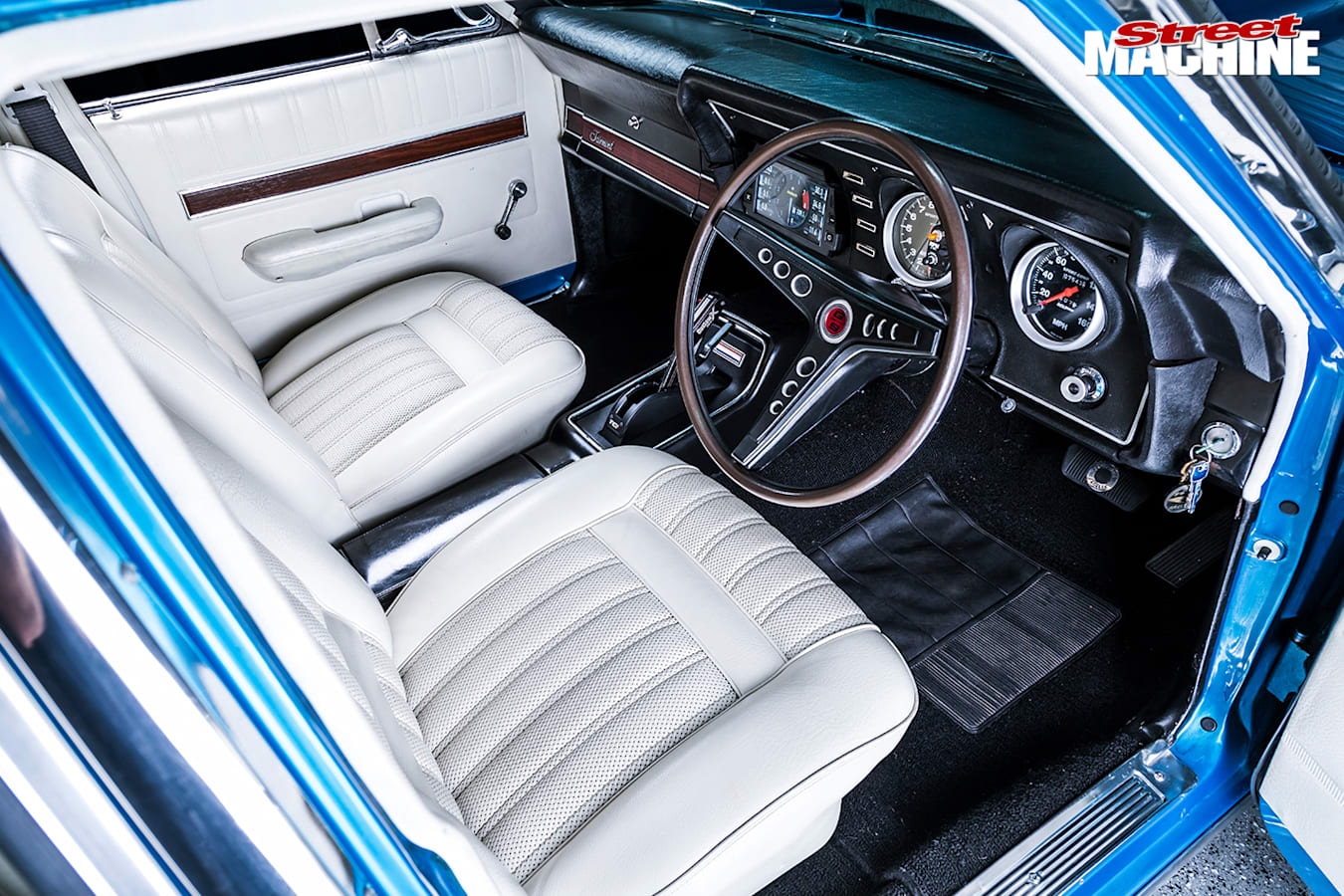 Street Machine Features Ford Falcon Xy Interior