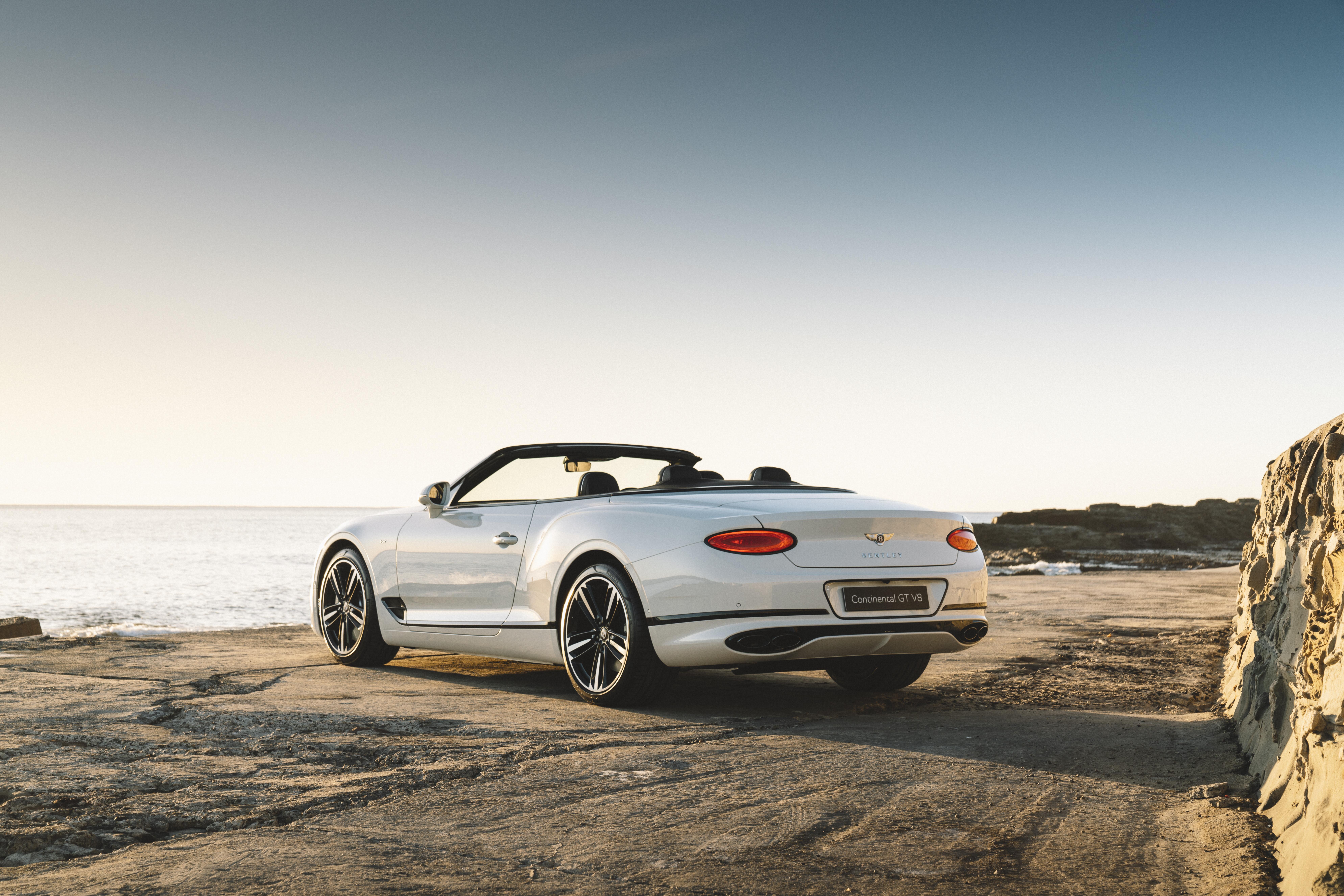 Motor Reviews Bentley Continental GTC V 8 Rear