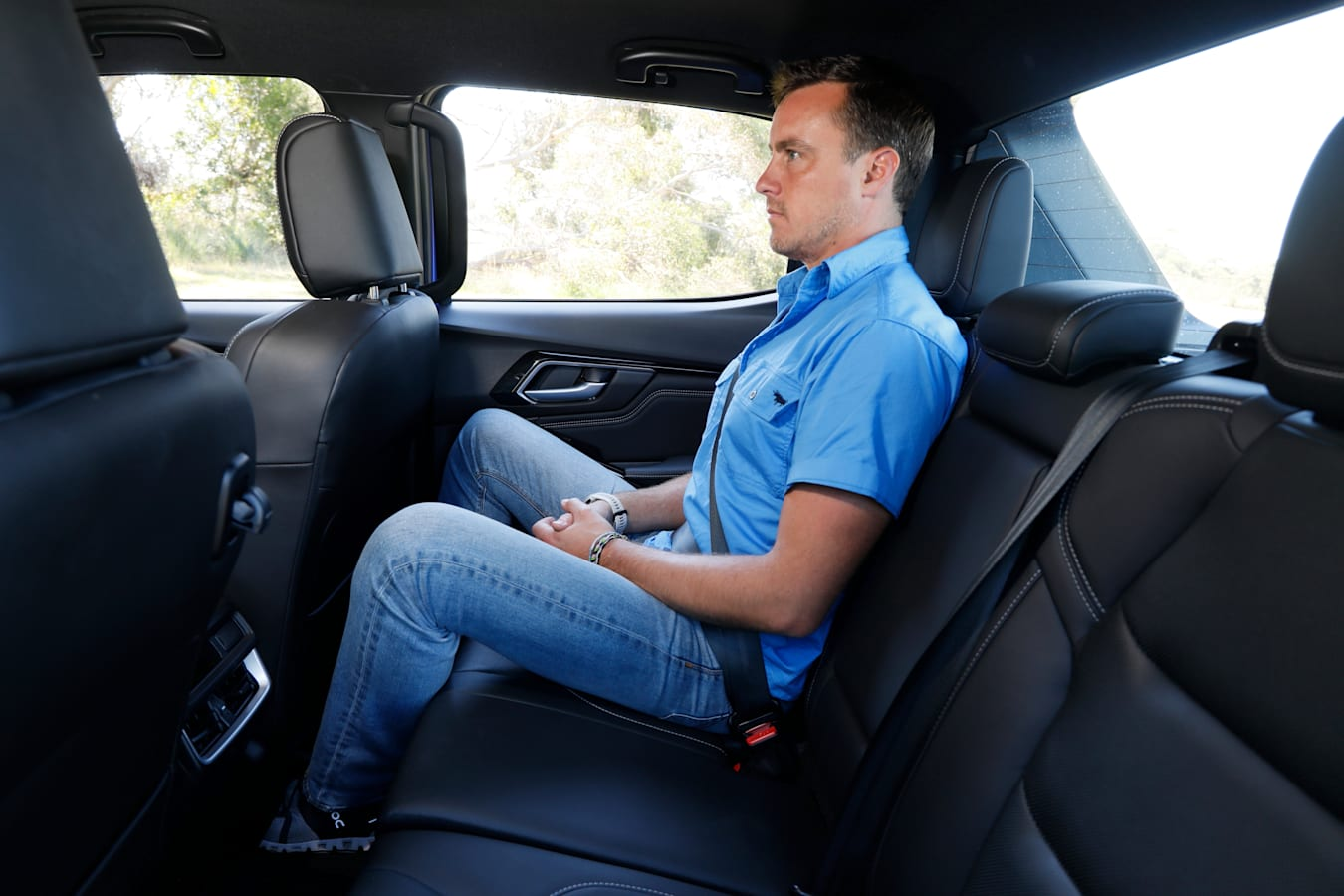 4 X 4 Australia Comparisons 2021 May 21 Isuzu D Max X Terrain Rear Seat Space