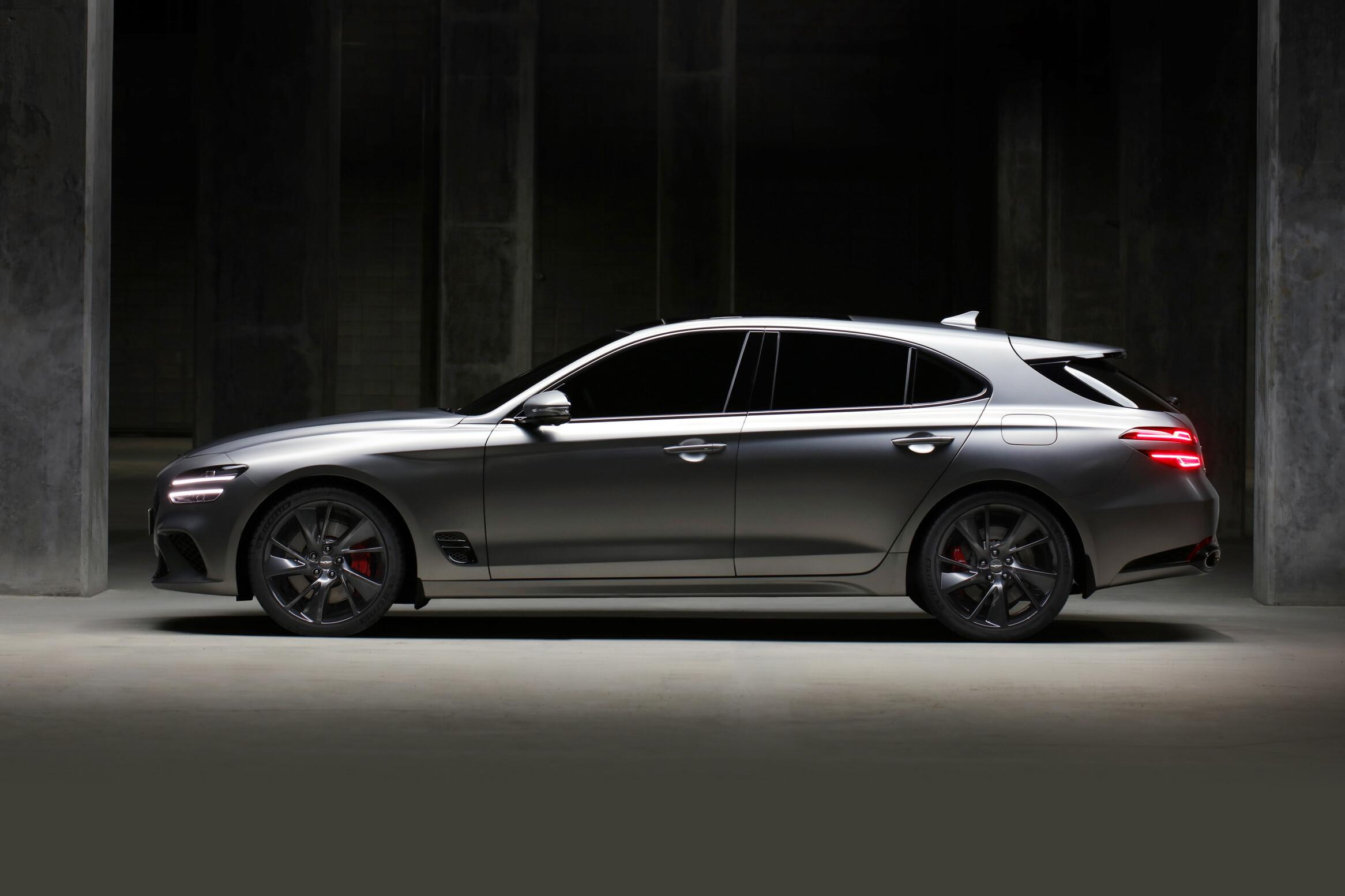 2022 Genesis G70 wagon revealed for Australia