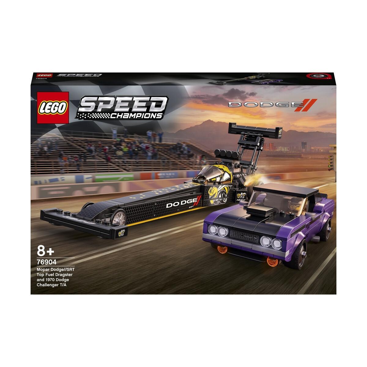 Street Machine News Lego Dodge Set