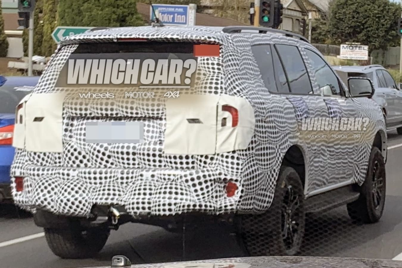 2022 Ford Everest Mule Spied