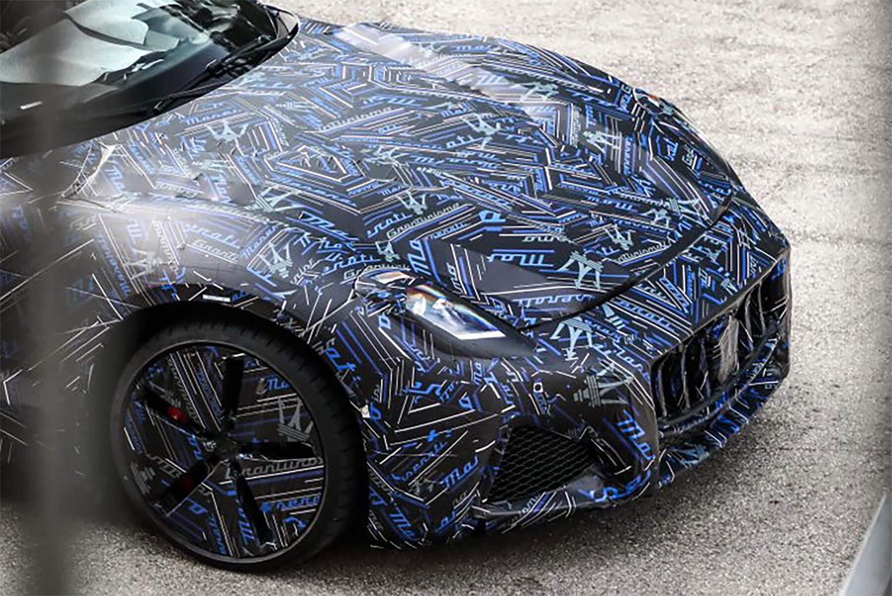 2022 Maserati GranTurismo preview