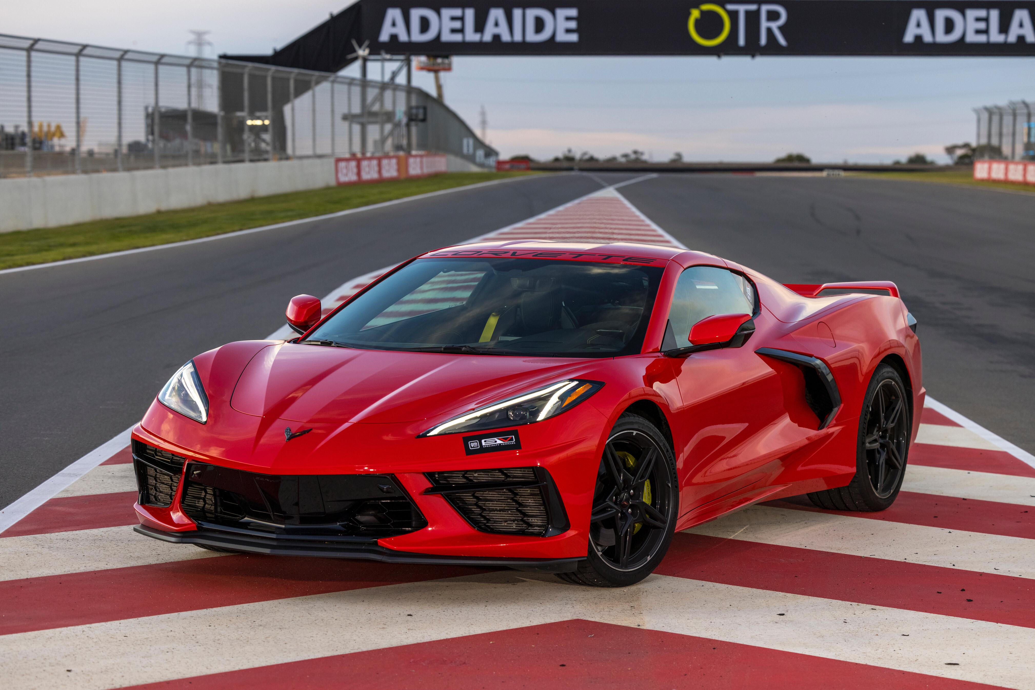 Craig Lowndes Corvette