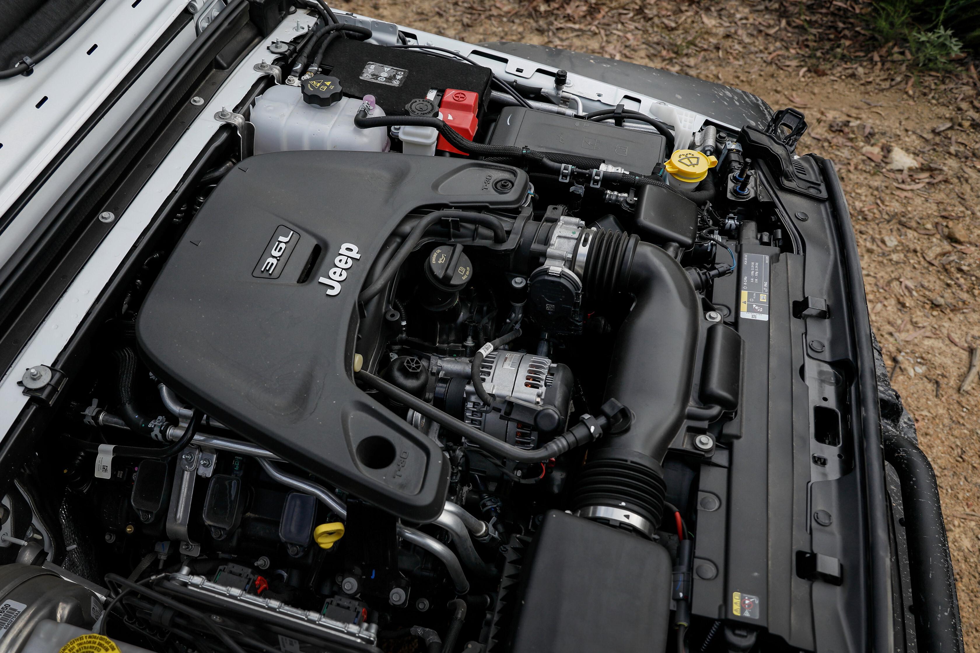 Wheels Reviews 2021 Jeep Wrangler Rubicon Recon Engine