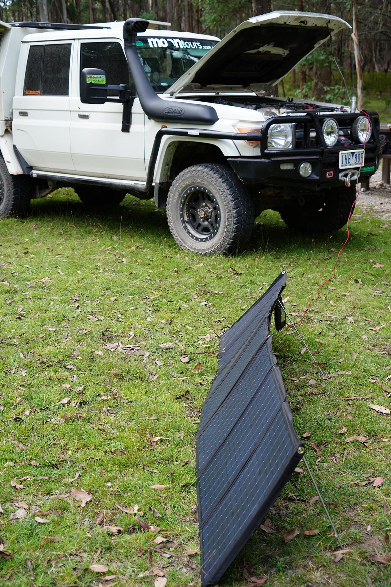 4 X 4 Australia Gear Projecta 180 W Solar Panel 4