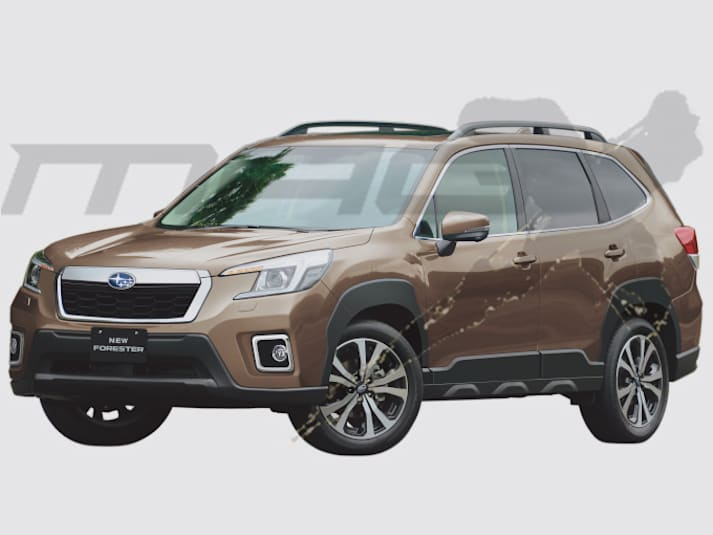 How Car Sensor imagines the 2022 Subaru Forester will look