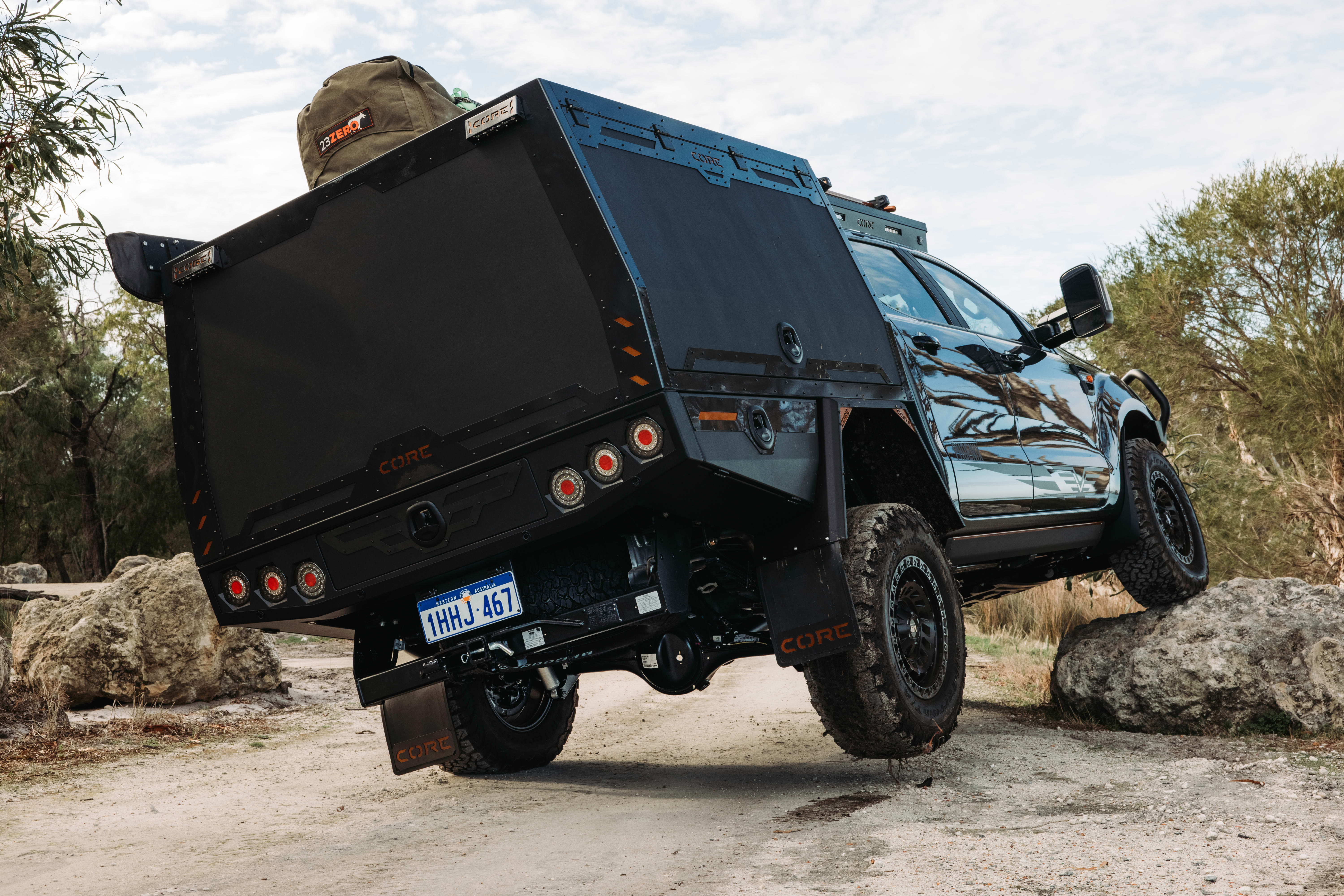 4 X 4 Australia Reviews 2021 August 2021 Core Offroad Ford Ranger 8