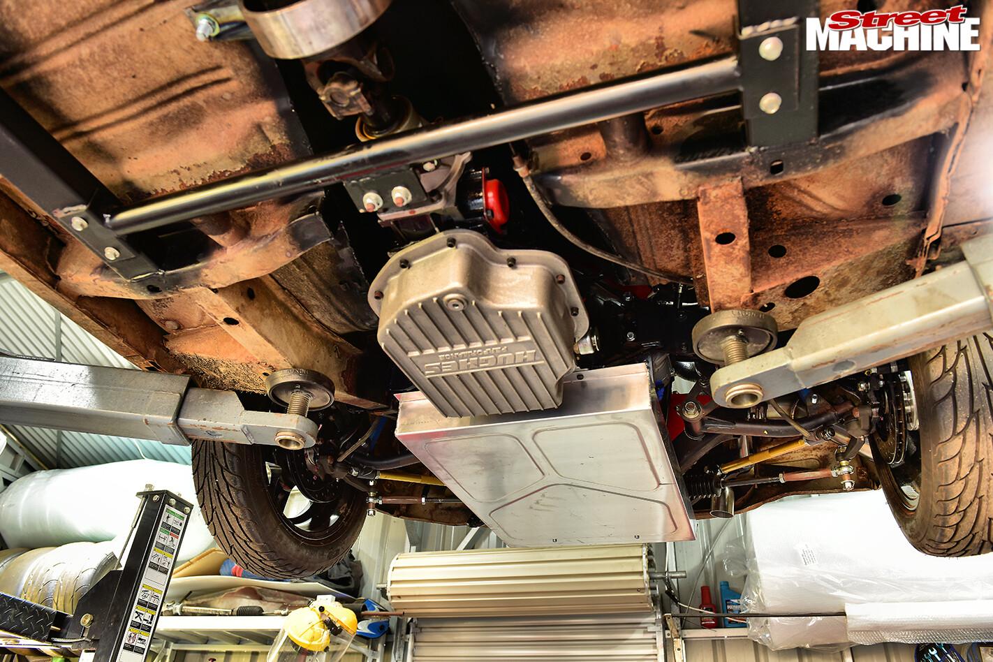 Street Machine Features Valiant Ap 6 Ute Underside 3