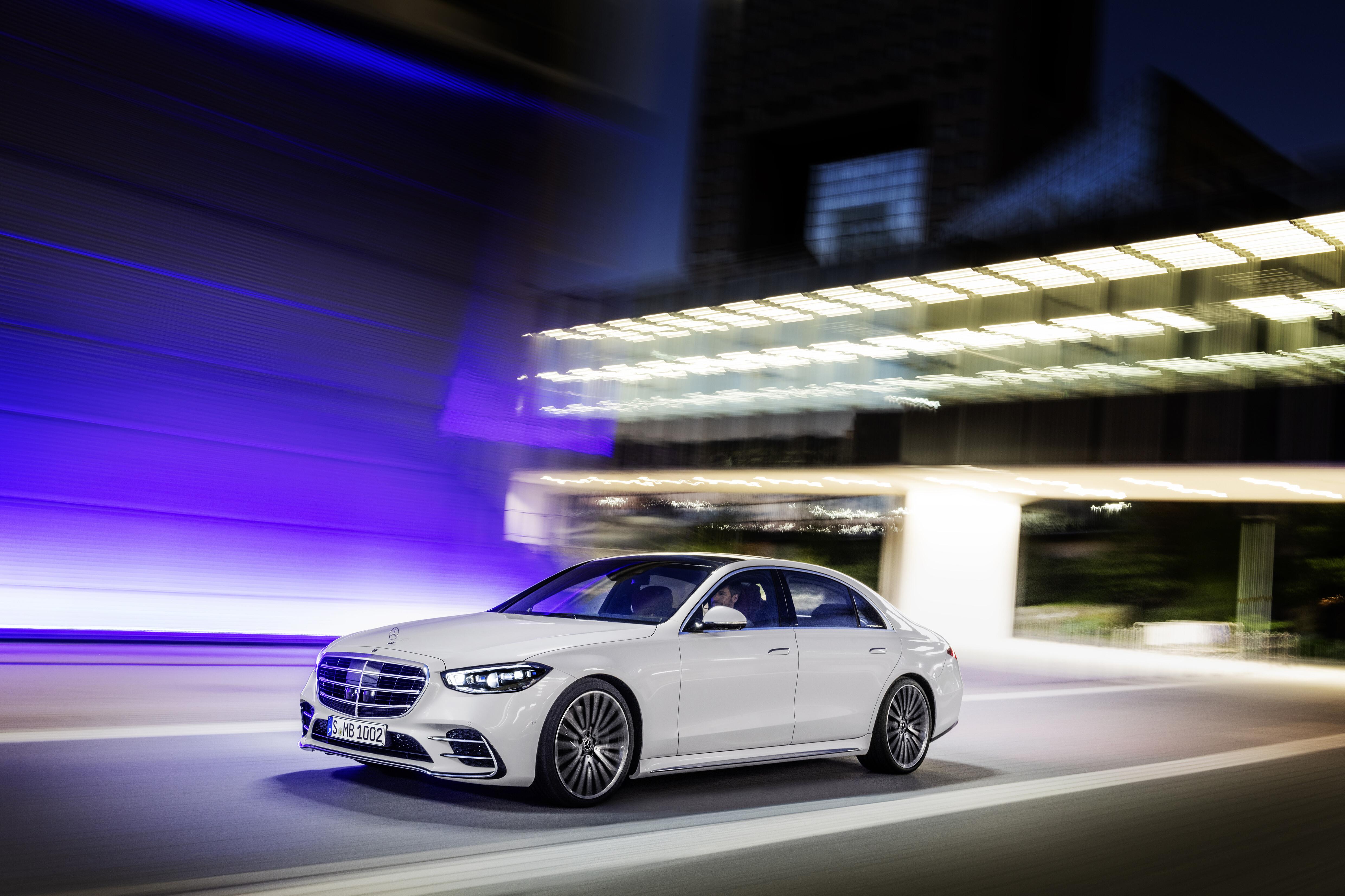 2021 Mercedes-Benz S 580L 4MATIC