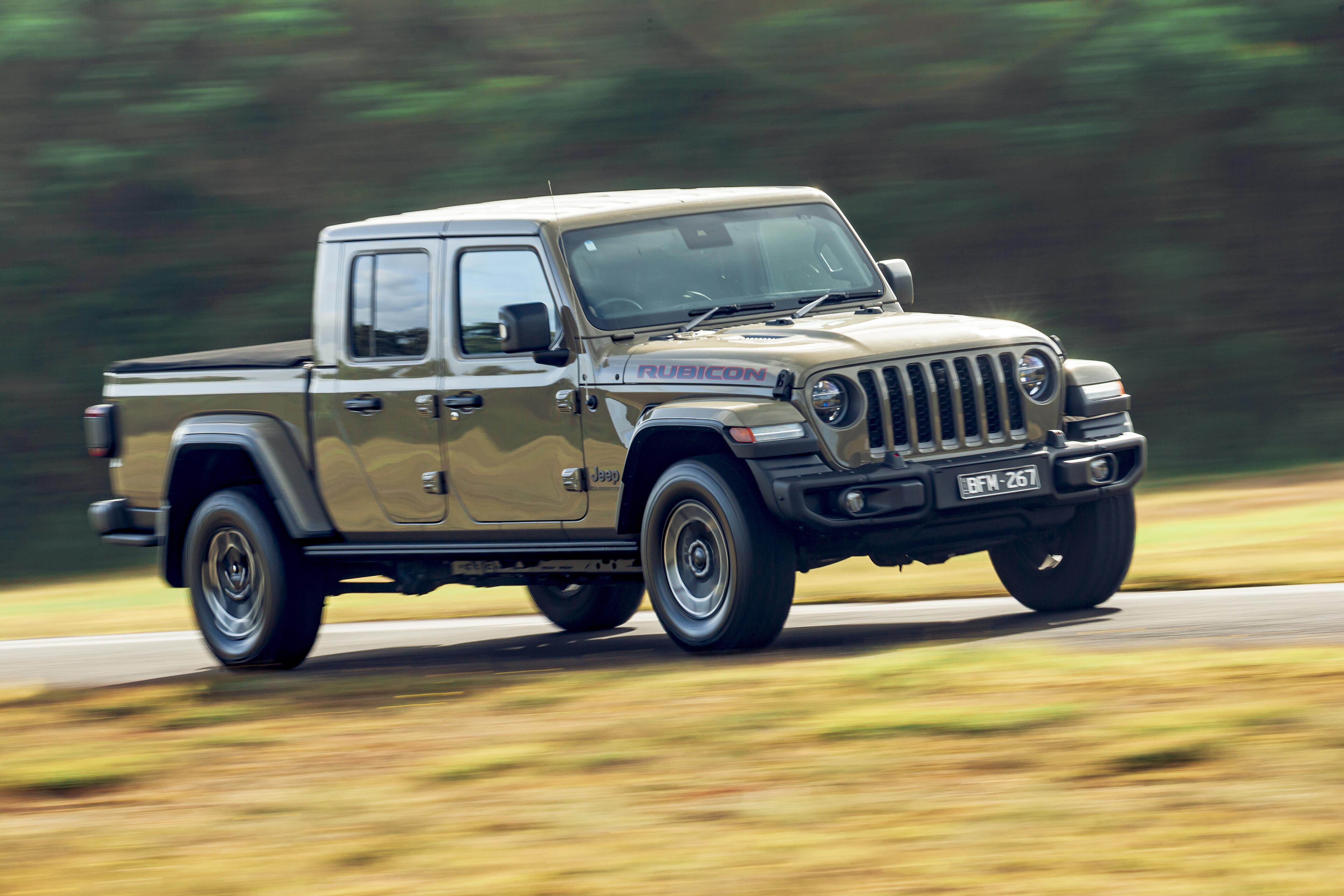 4 X 4 Australia Comparisons 2021 May 21 Jeep Gladiator On Road Test