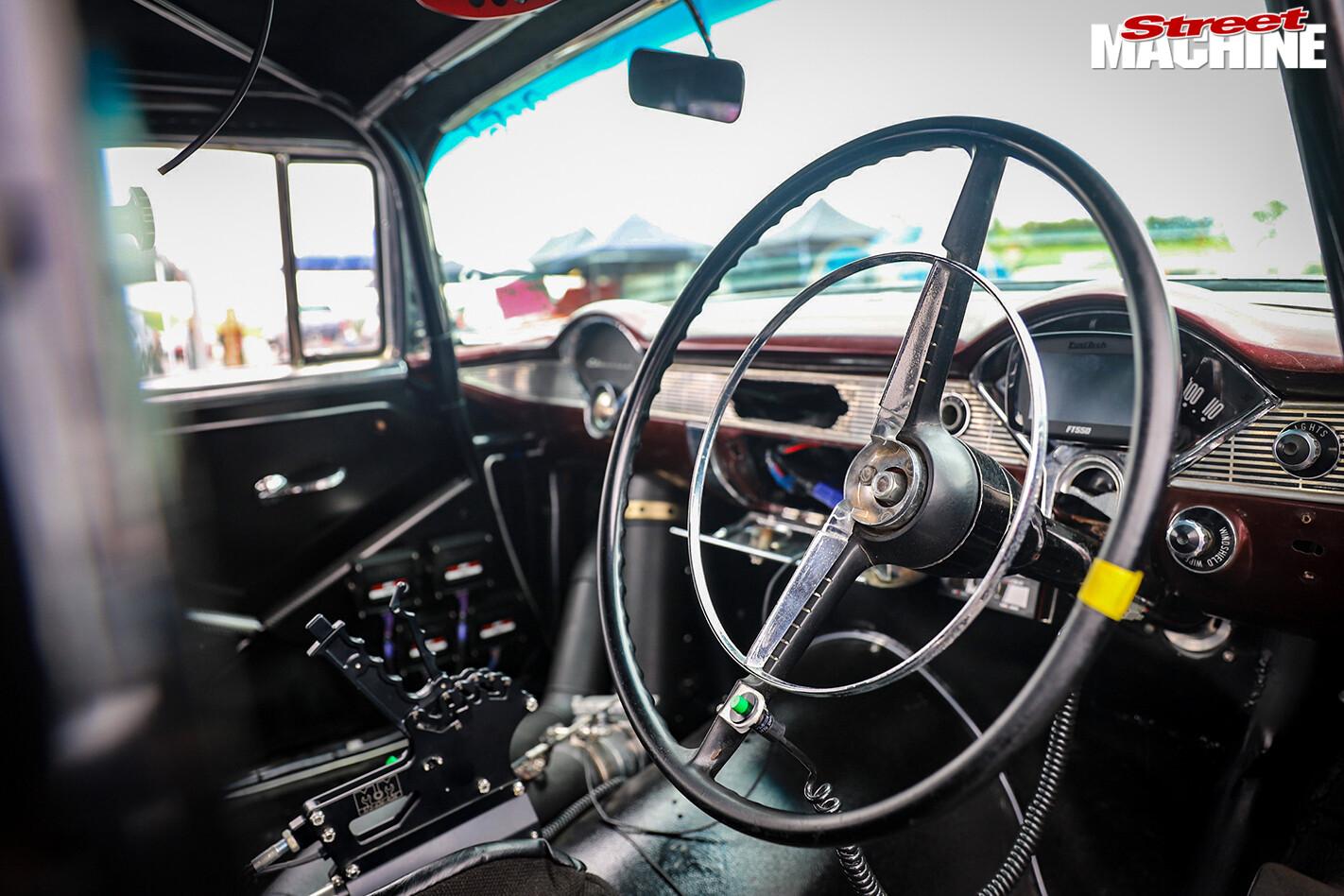 Street Machine Features 1956 Chevrolet Dash
