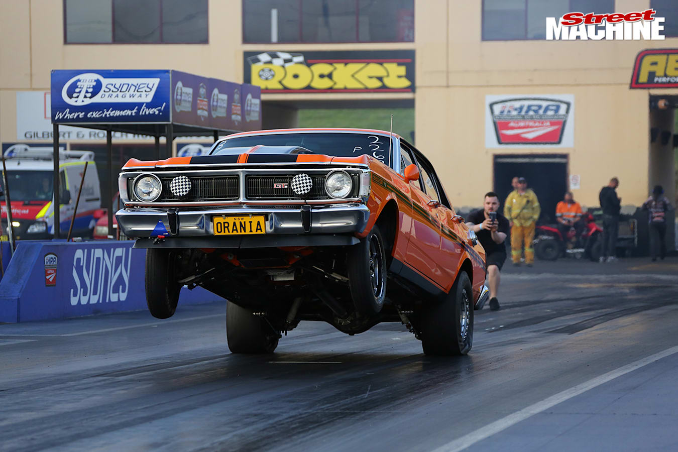 Street Machine Features Ford Falcon Drag
