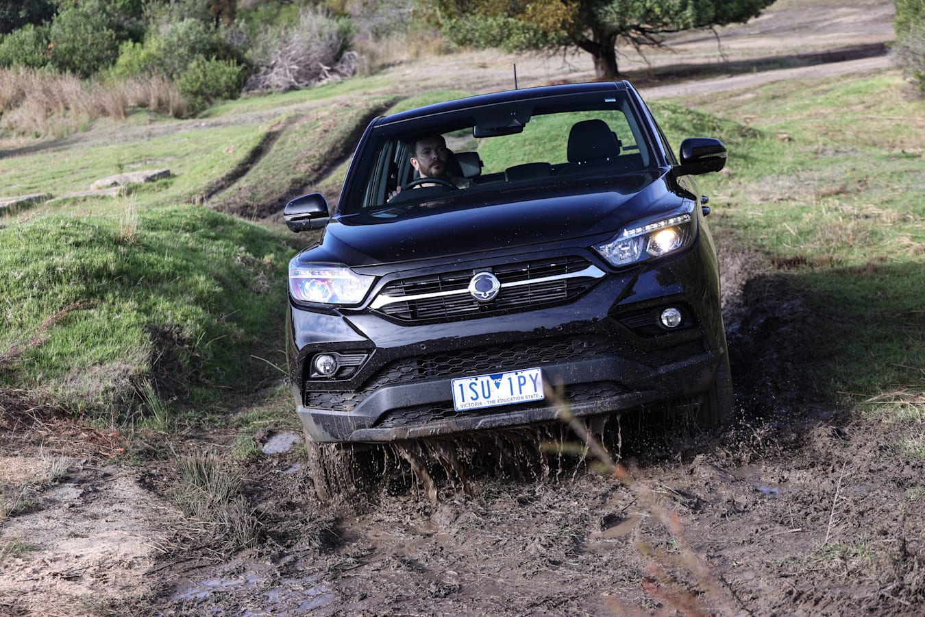 4 X 4 Australia Comparisons 2021 May 21 Ssang Yong Musso Unlimited XLV Off Road Test